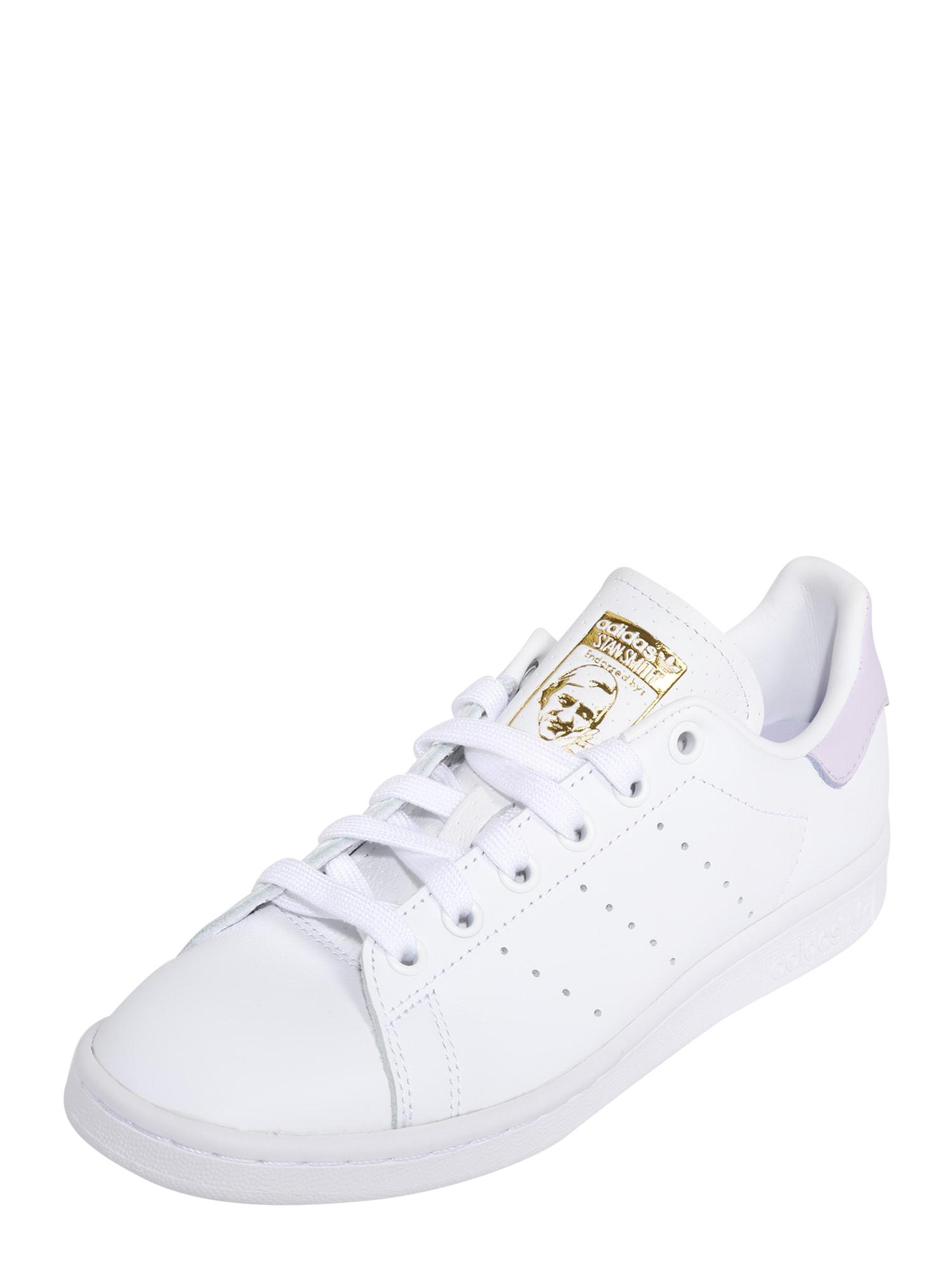 ADIDAS ORIGINALS Tenisky 'Stan Smith'  pink / bílá / zlatá