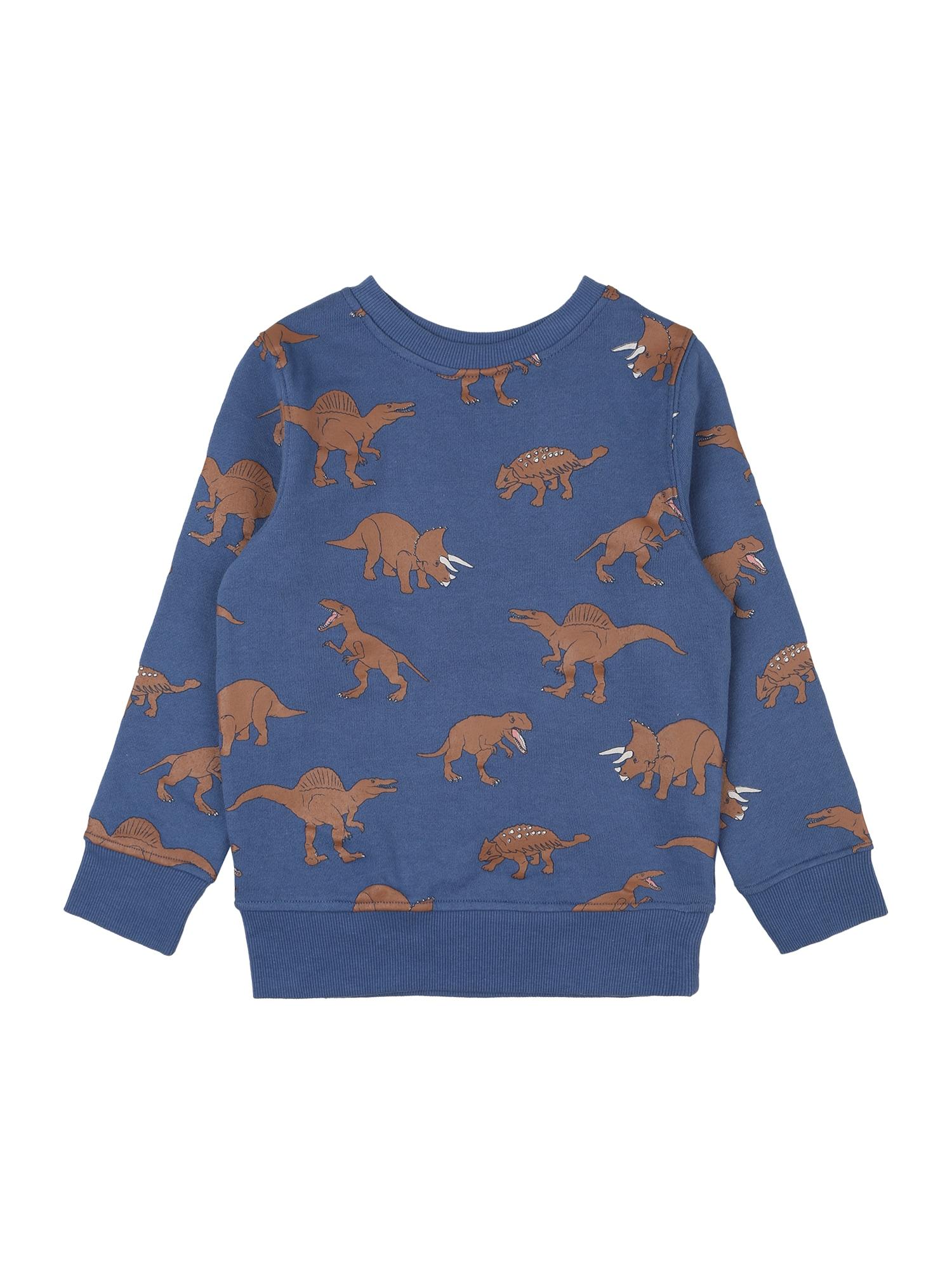 Cotton On Megztinis be užsegimo tamsiai mėlyna / ruda