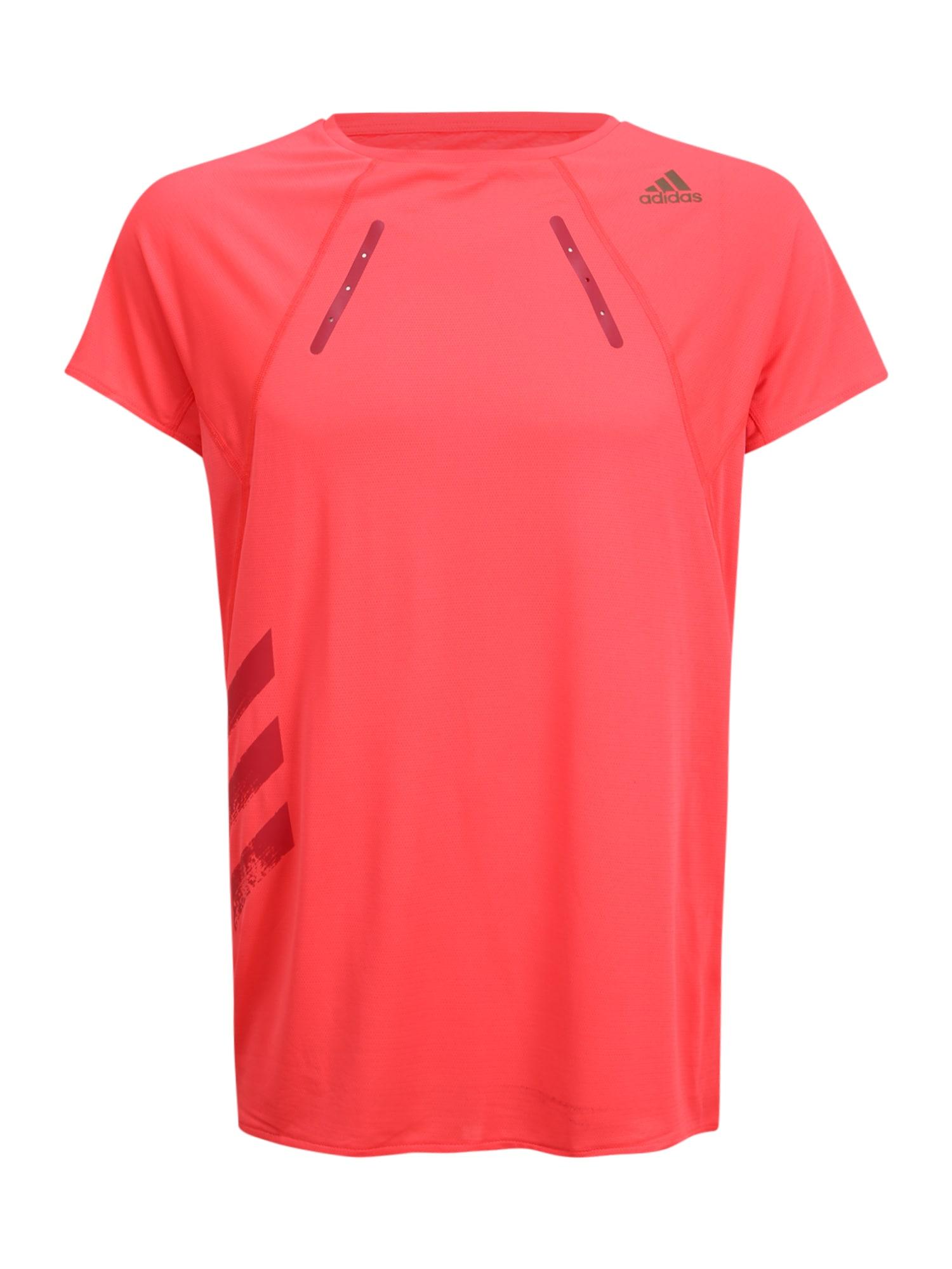 ADIDAS PERFORMANCE Funkční tričko  svítivě růžová