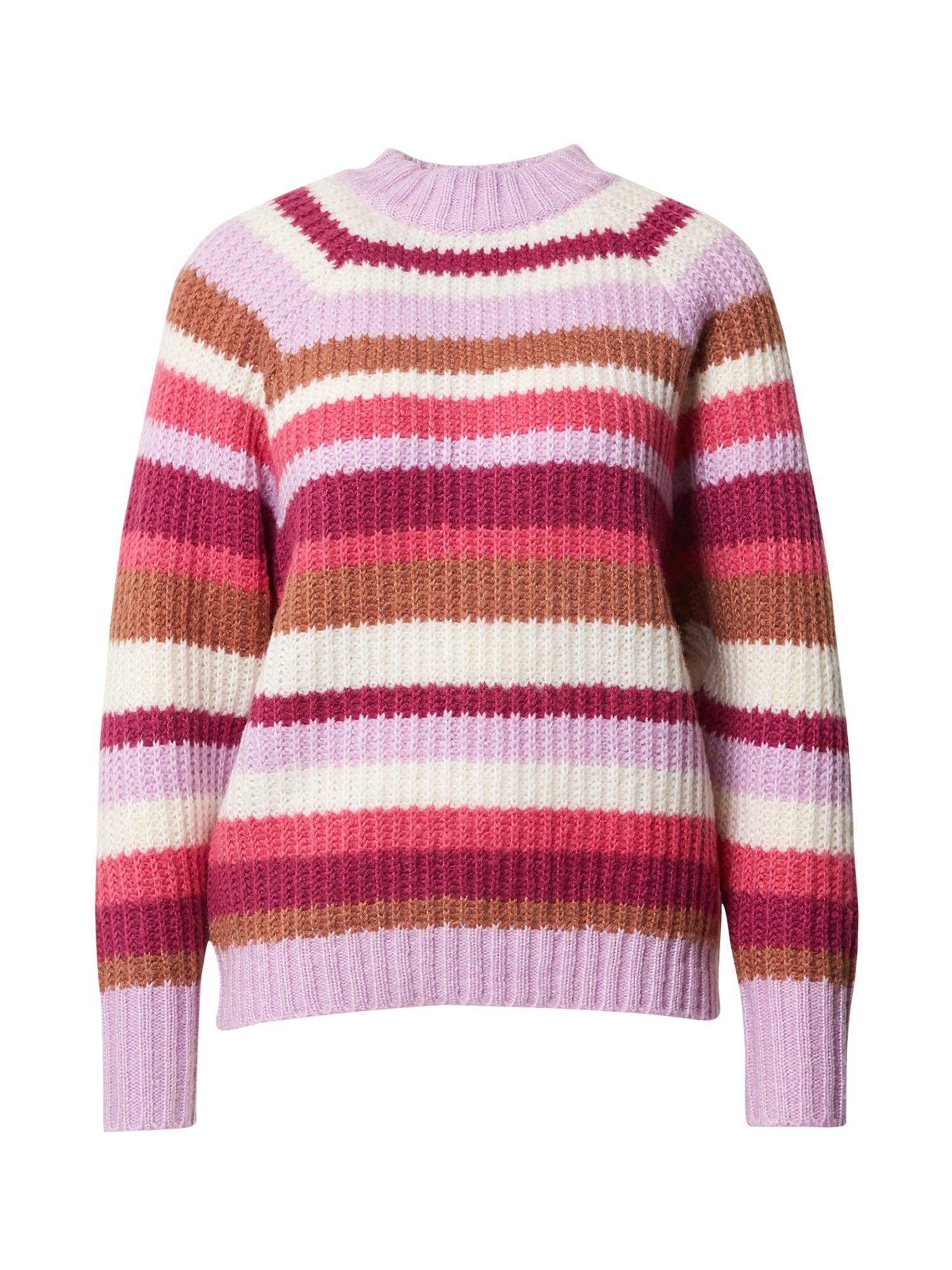 FRNCH PARIS Megztinis purpurinė / mišrios spalvos
