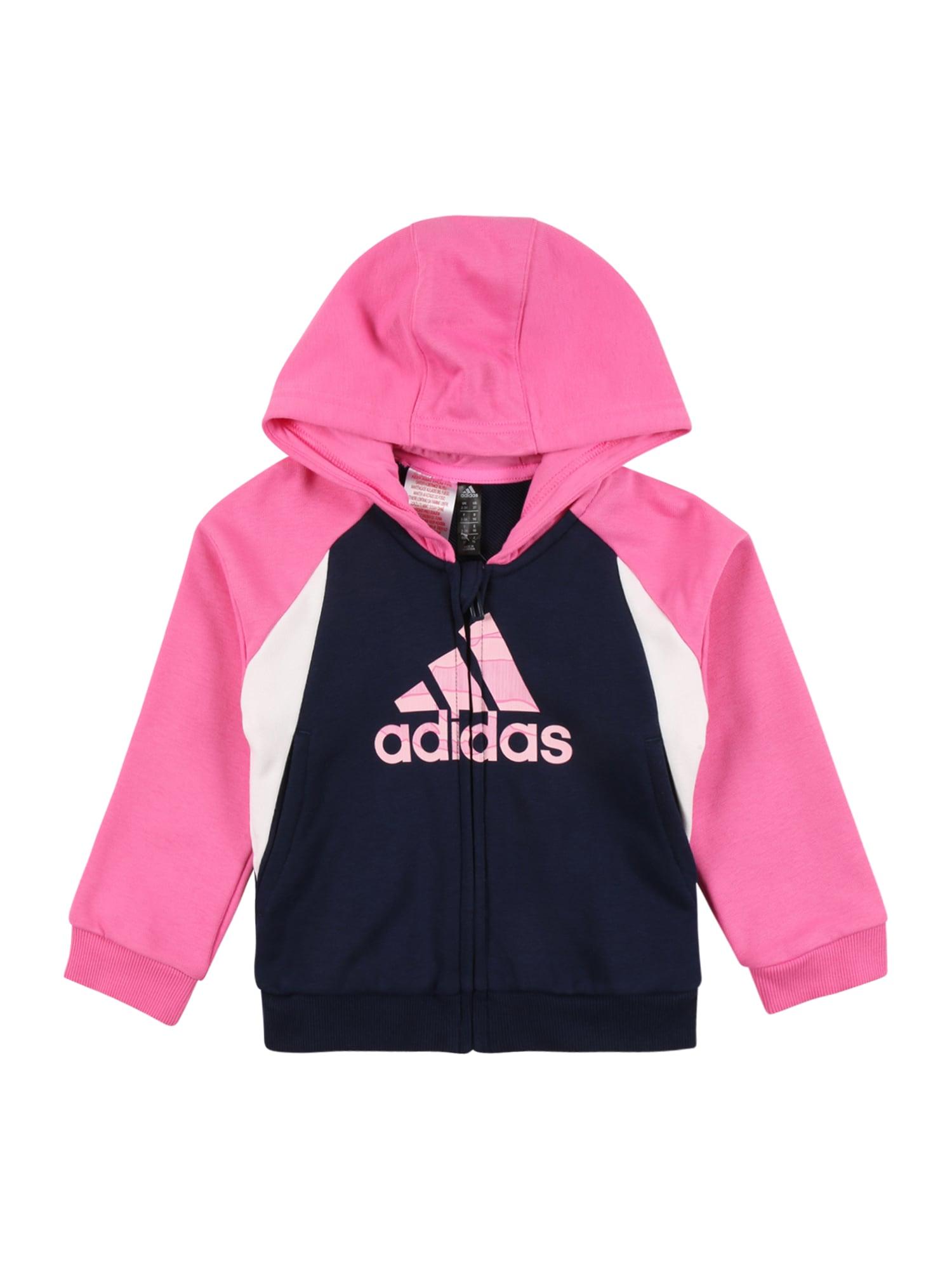ADIDAS PERFORMANCE Sportinis džemperis rožinė / balta / tamsiai mėlyna jūros spalva