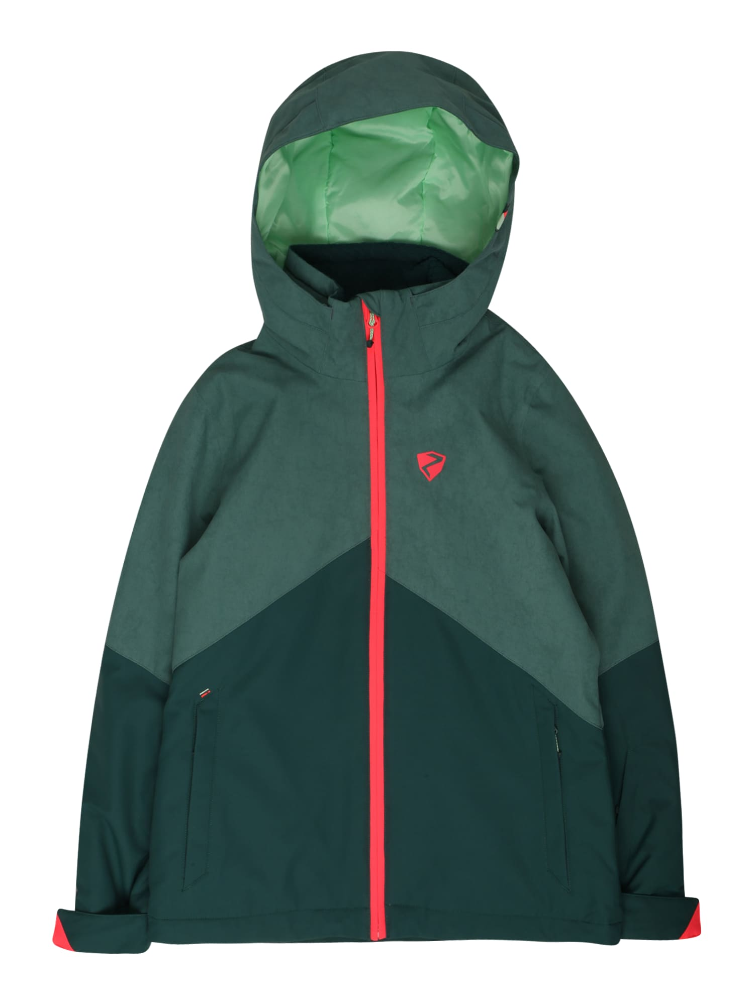 ZIENER Sportovní bunda 'ALANI'  zelená