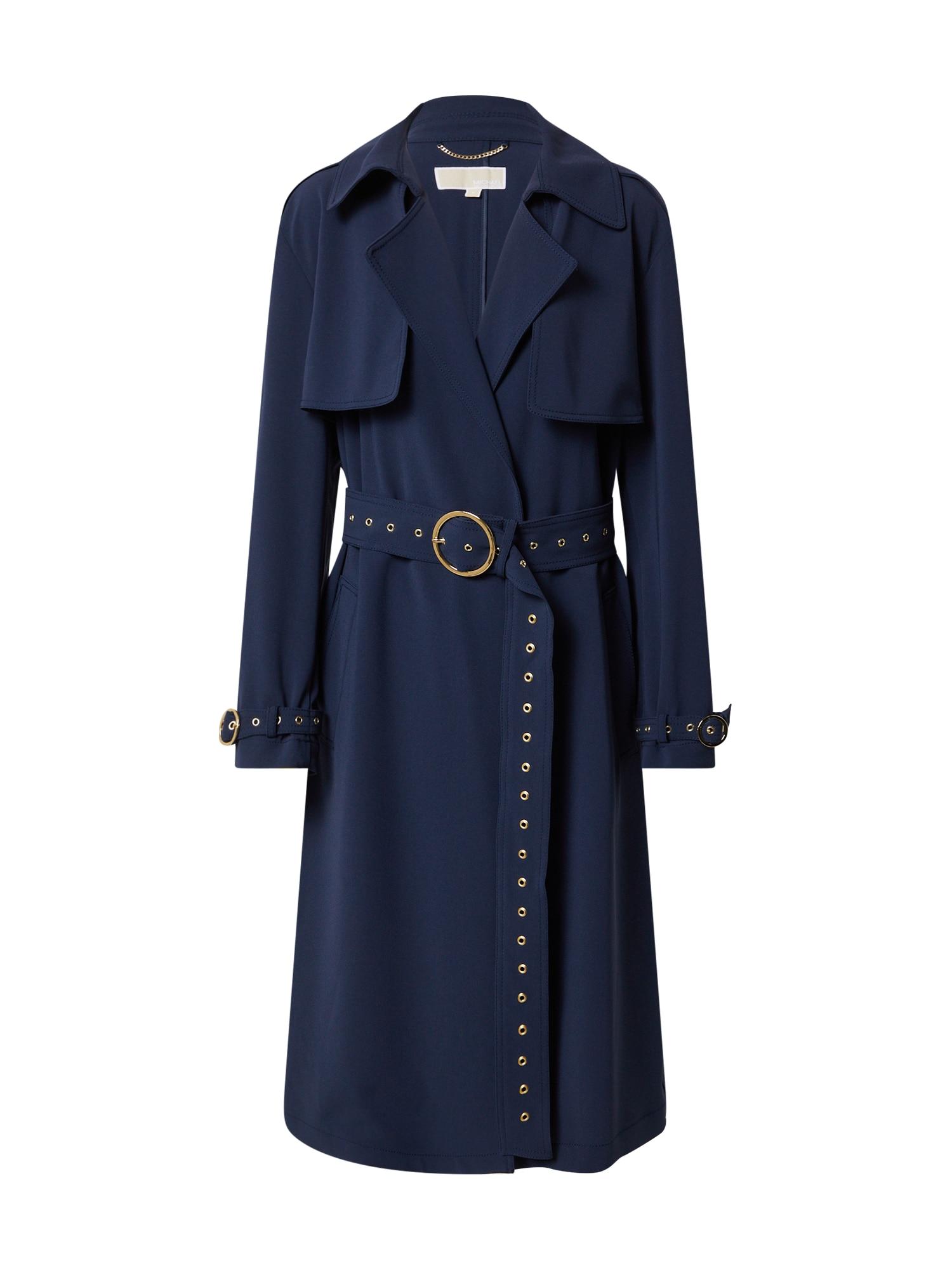 MICHAEL Michael Kors Demisezoninis paltas tamsiai mėlyna