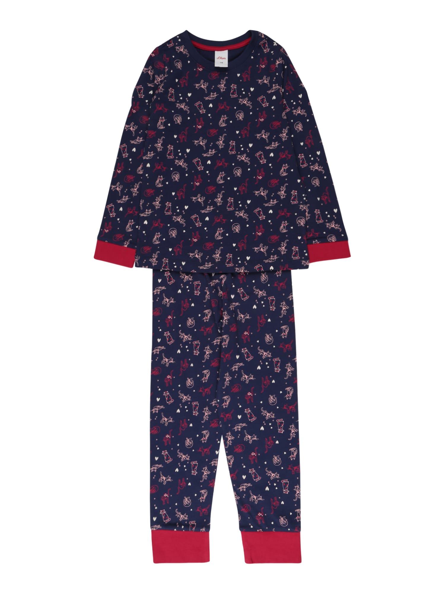 s.Oliver Miego kostiumas mėlyna / mišrios spalvos