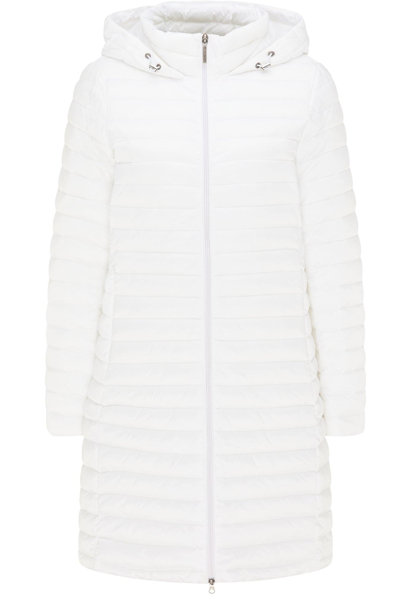 Usha Demisezoninis paltas balta