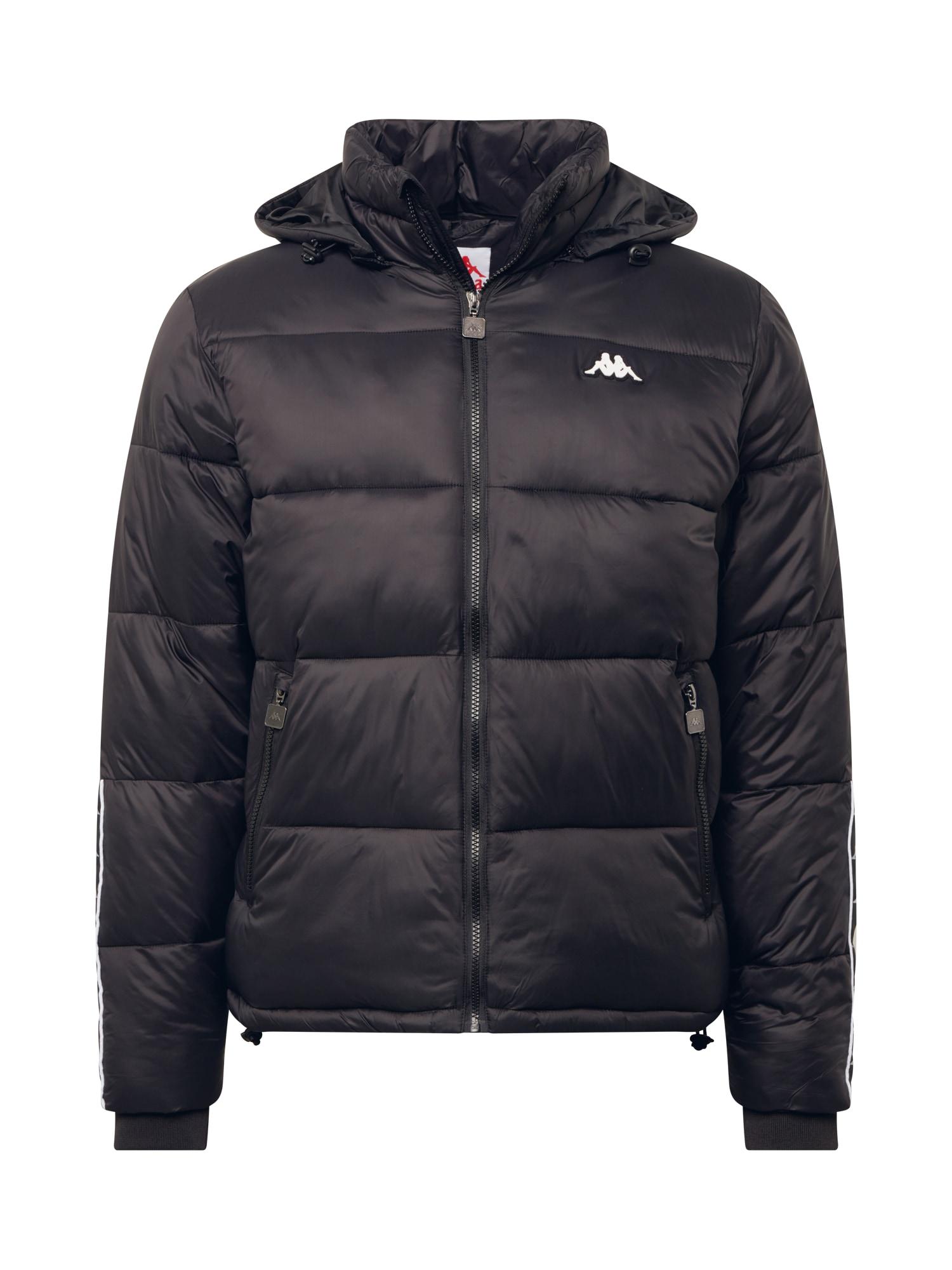 KAPPA Zimní bunda 'Harry'  černá