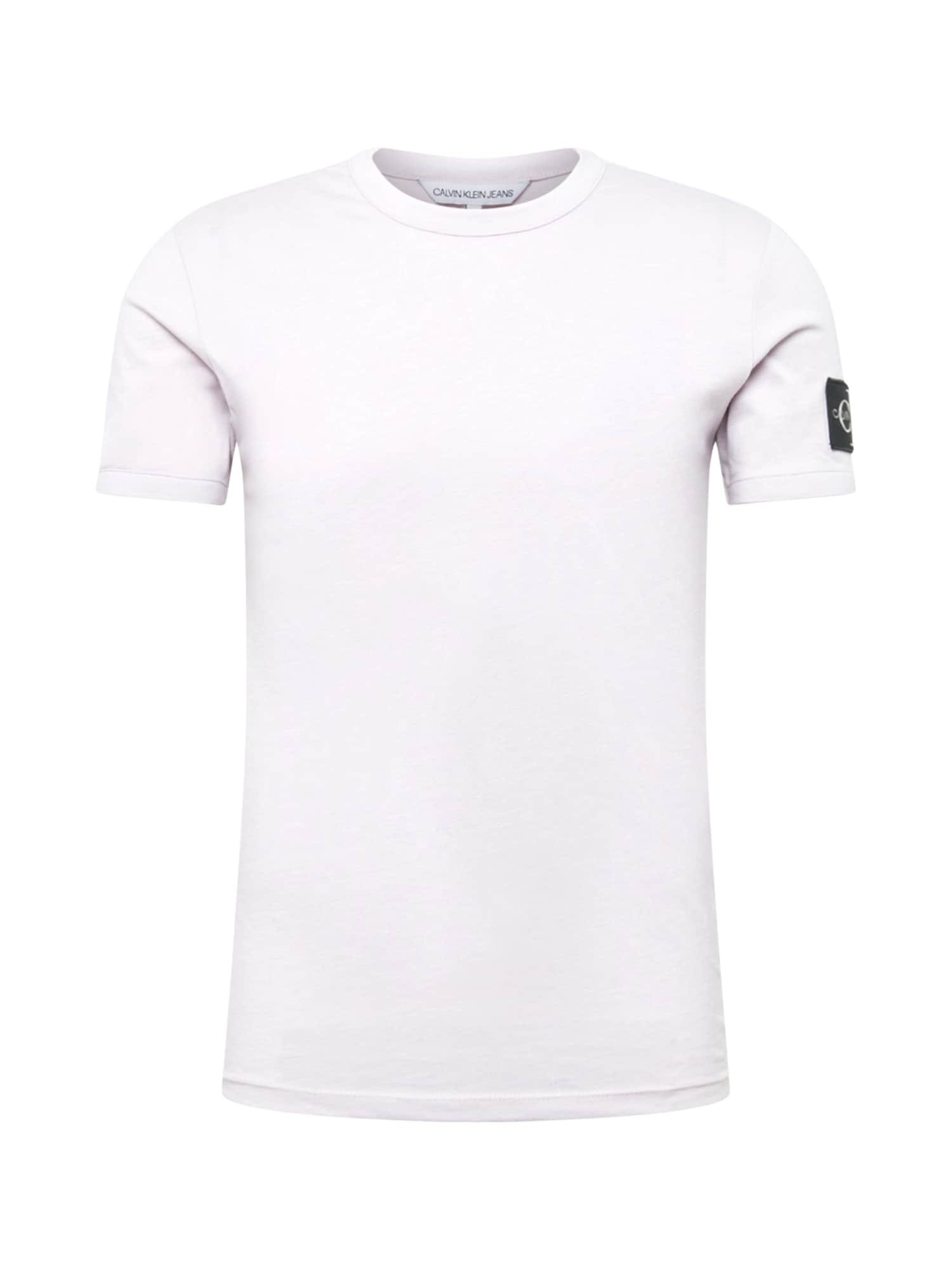 Calvin Klein Jeans Tričko  pastelová fialová