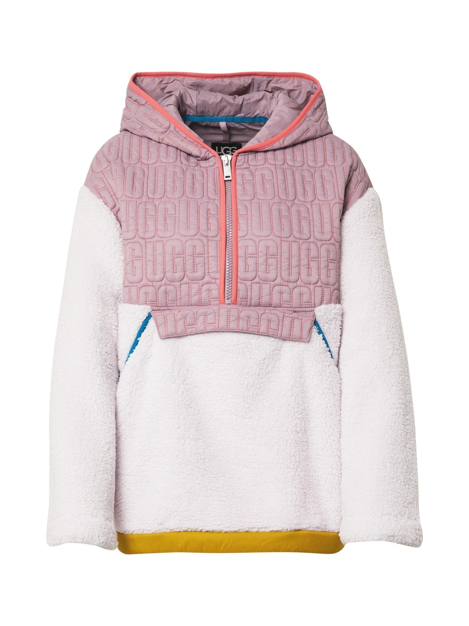 UGG Megztinis 'IGGY' rožinė / balta
