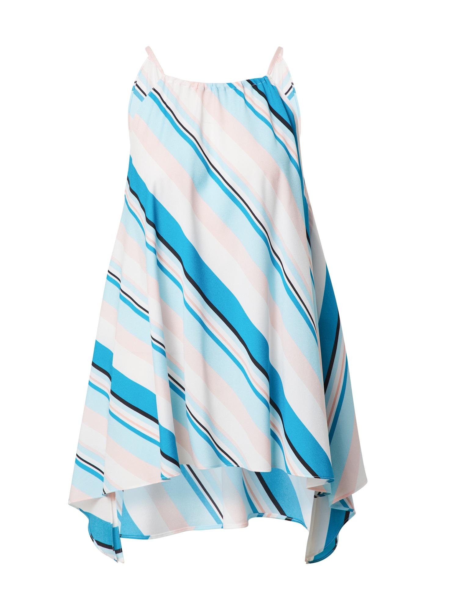 DKNY Palaidinė neoninė mėlyna / balta / rožių spalva / šviesiai mėlyna / juoda