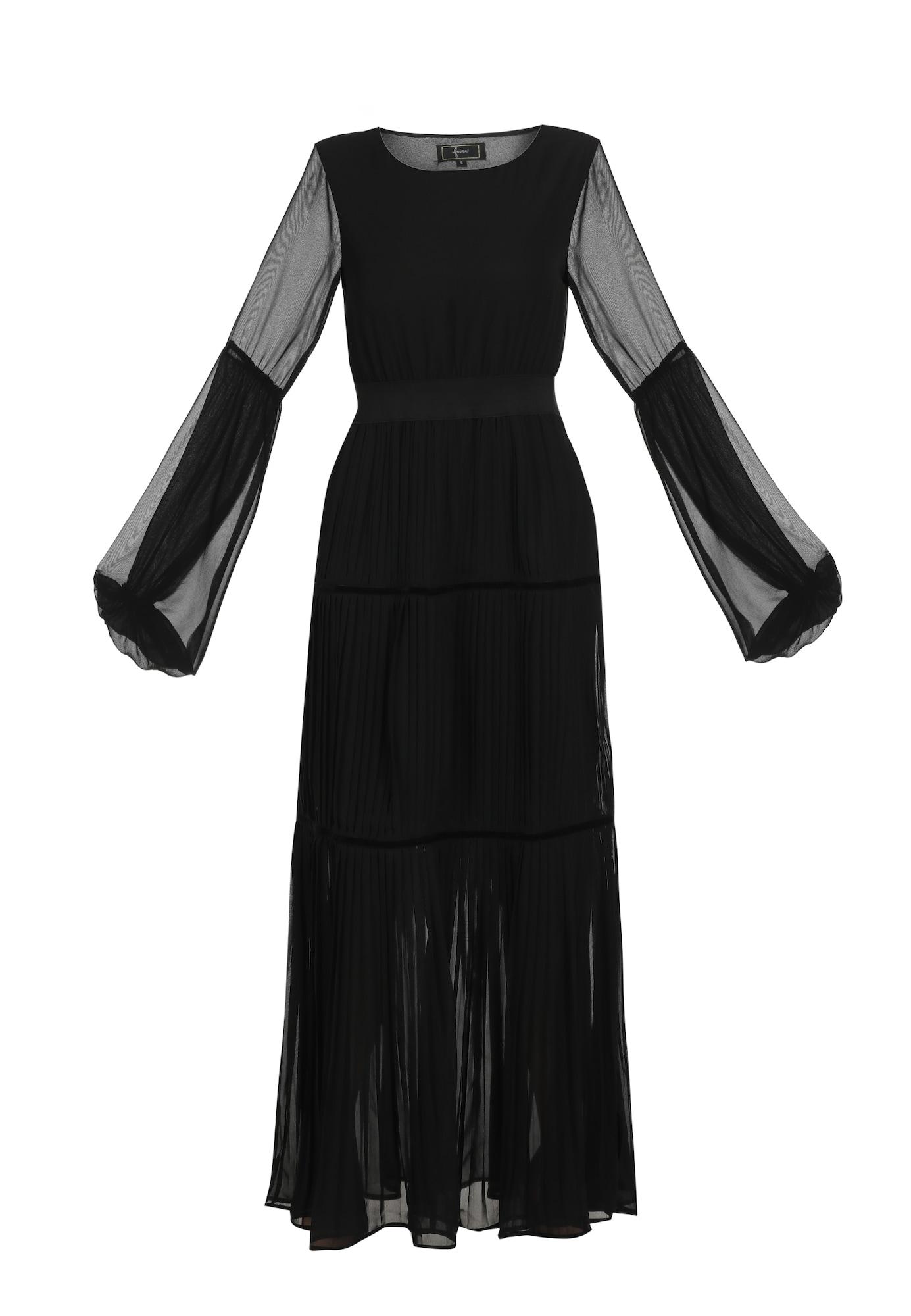 faina Vakarinė suknelė juoda