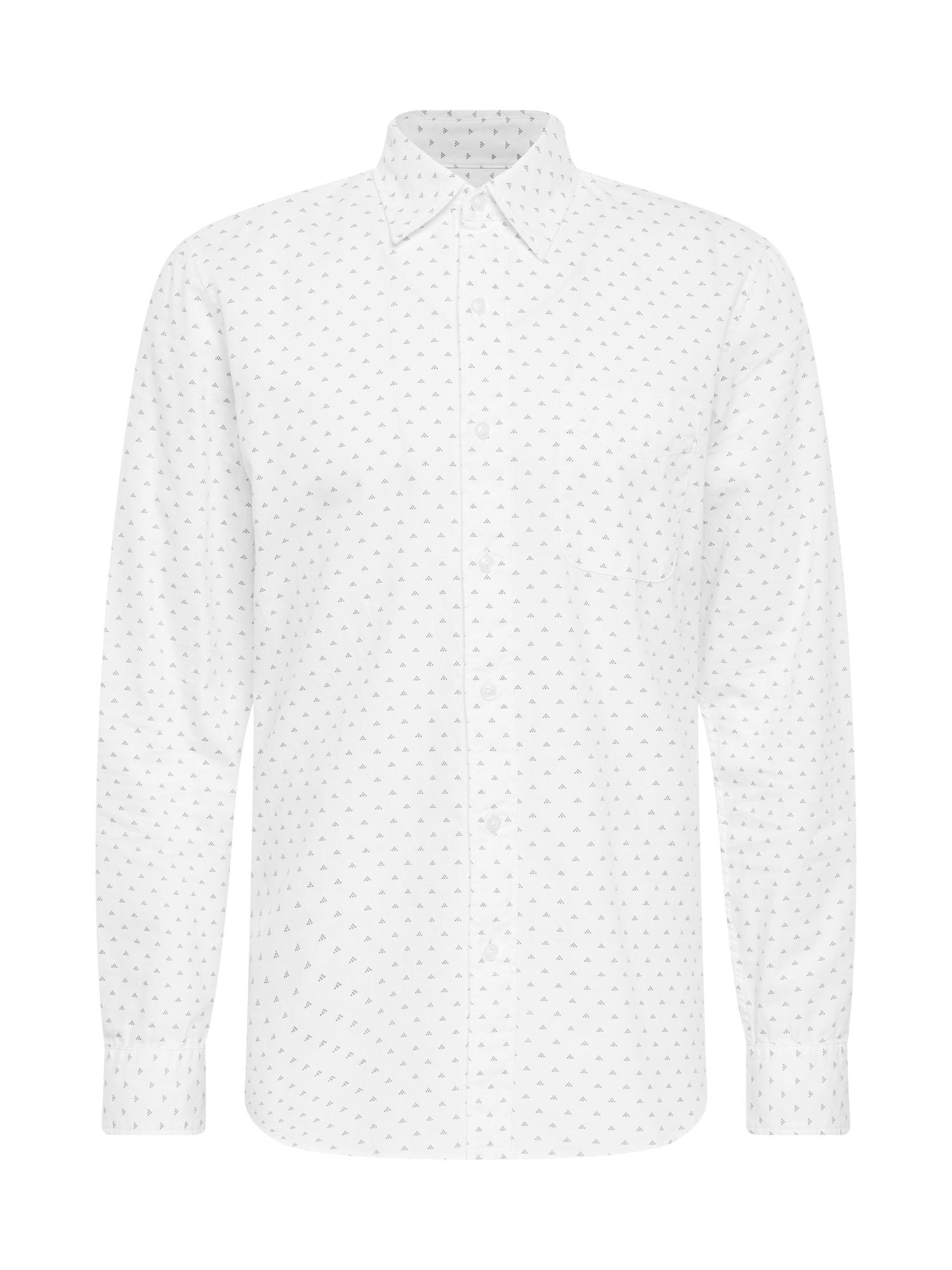 American Eagle Marškiniai balta / pilka