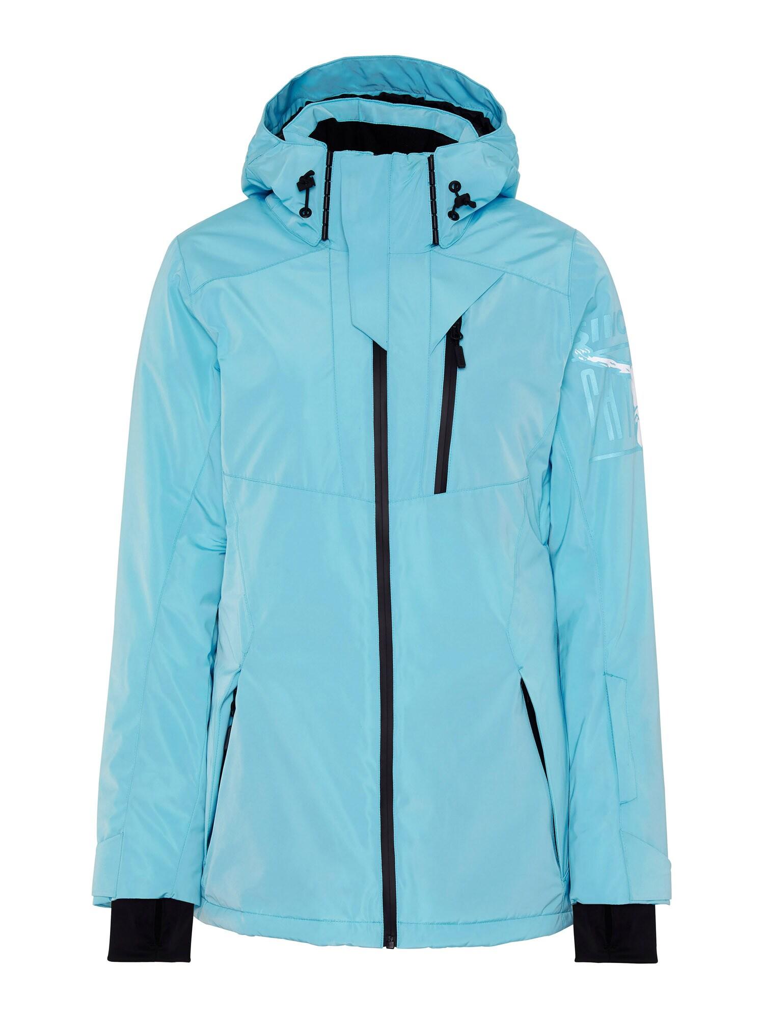 CHIEMSEE Sportovní bunda 'Ruka'  modrá / černá