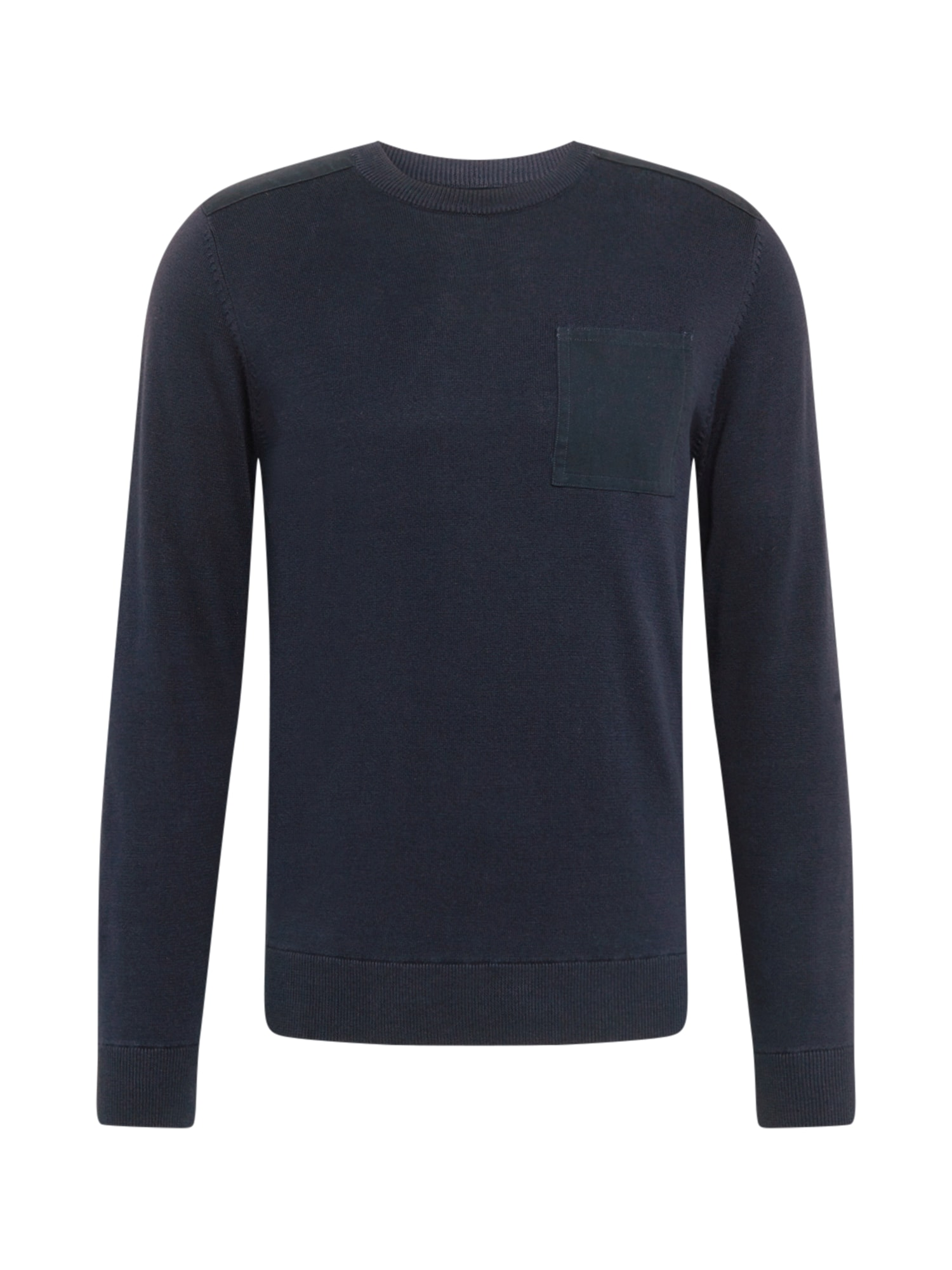 BURTON MENSWEAR LONDON Megztinis tamsiai mėlyna
