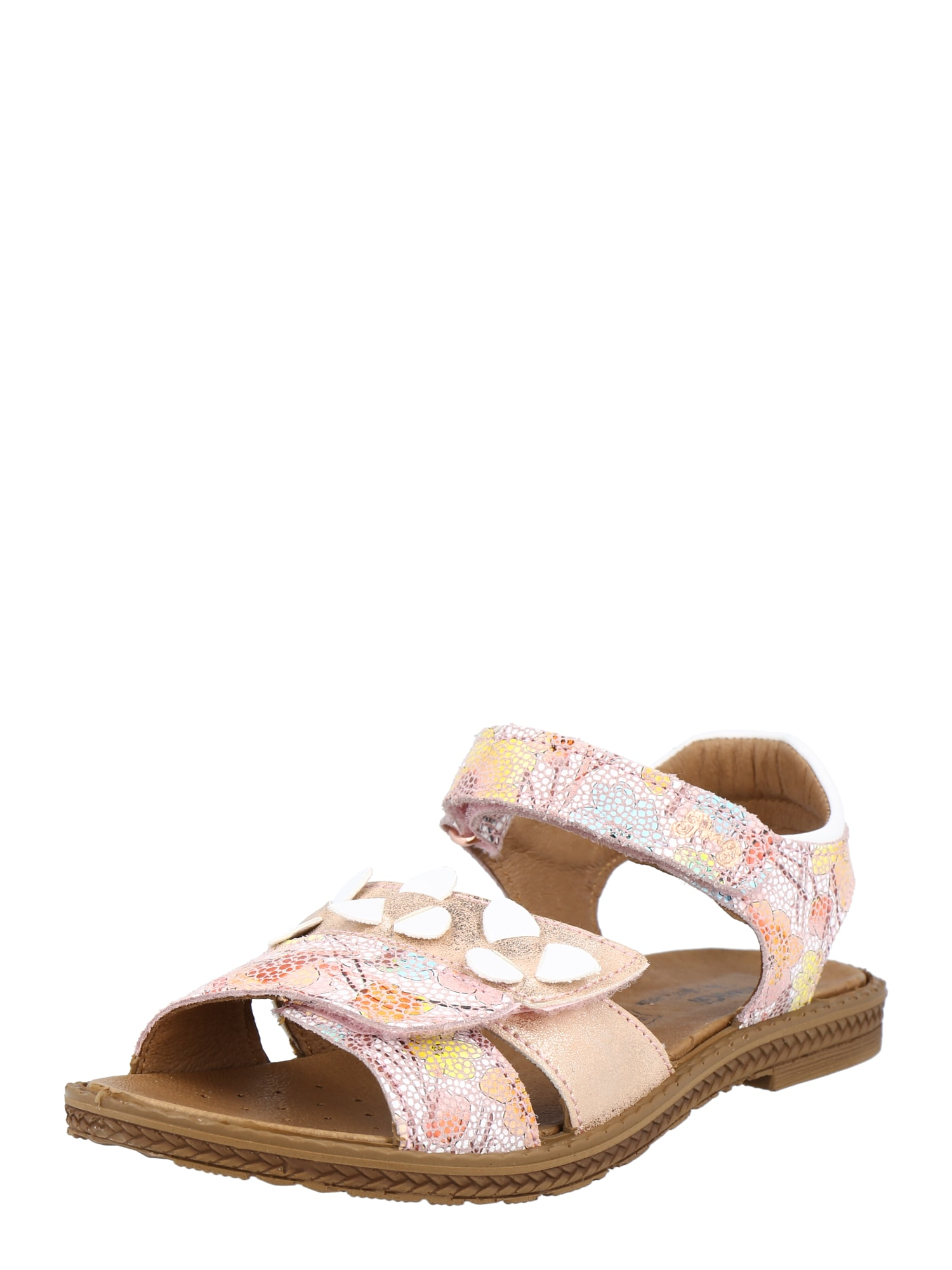 PRIMIGI Sandalai rožių spalva / persikų spalva / geltona / balta / vandens spalva