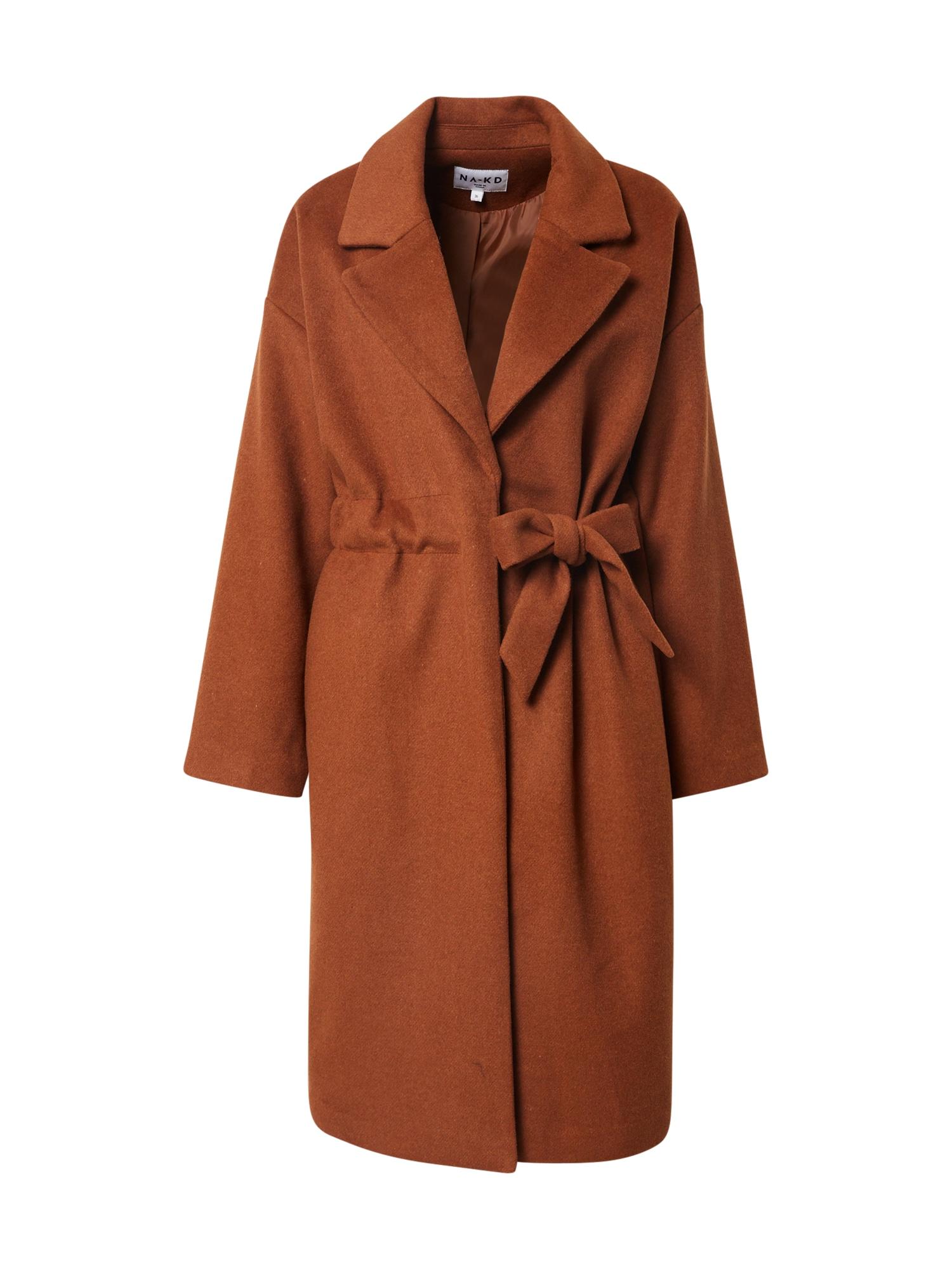NA-KD Demisezoninis paltas rusva