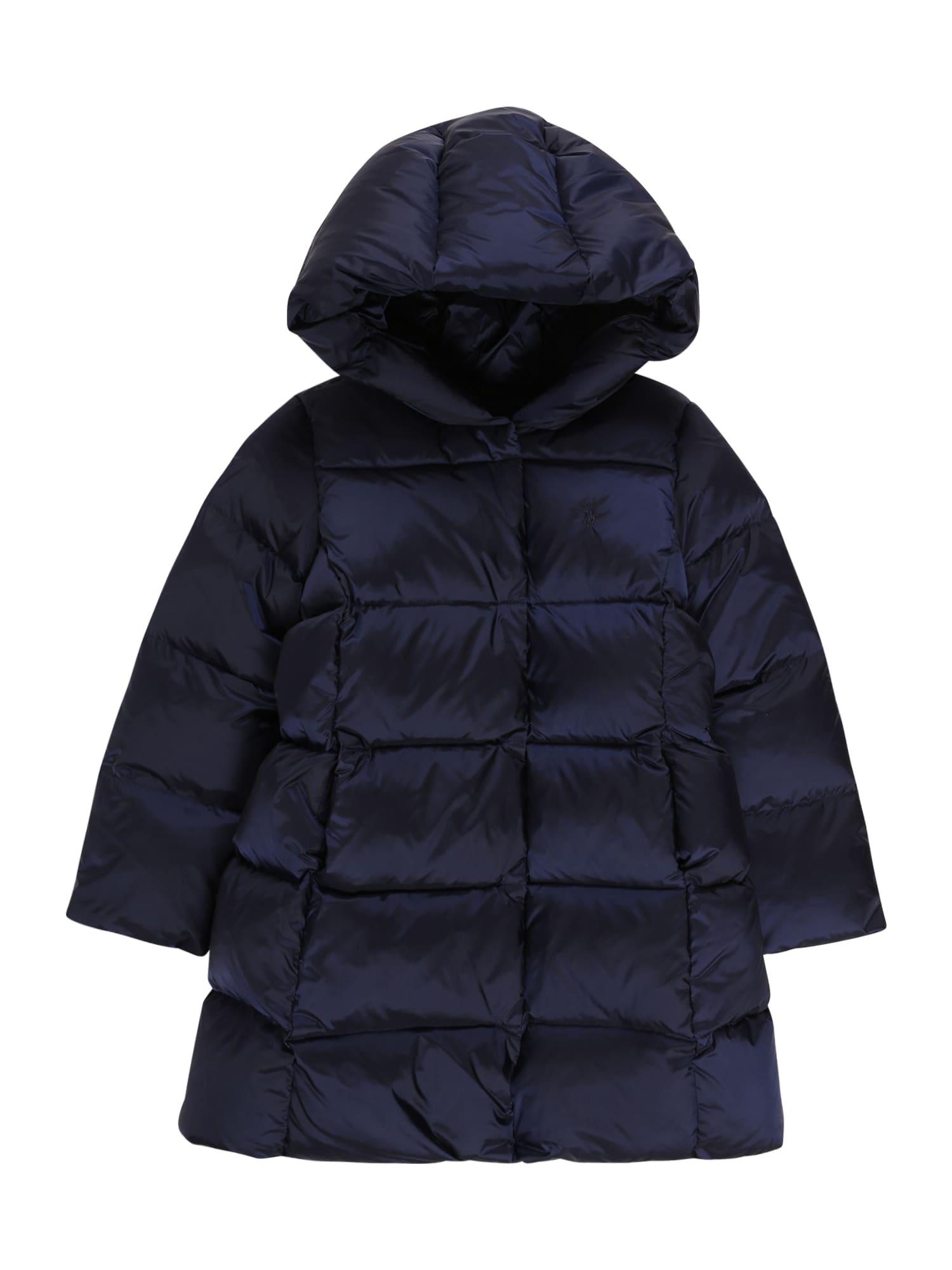 POLO RALPH LAUREN Paltas tamsiai mėlyna