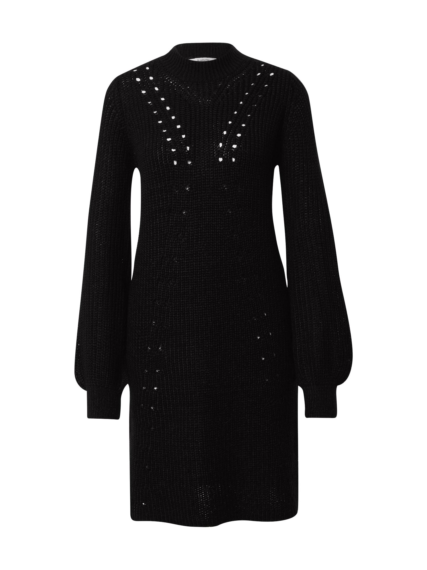 b.young Megzta suknelė juoda