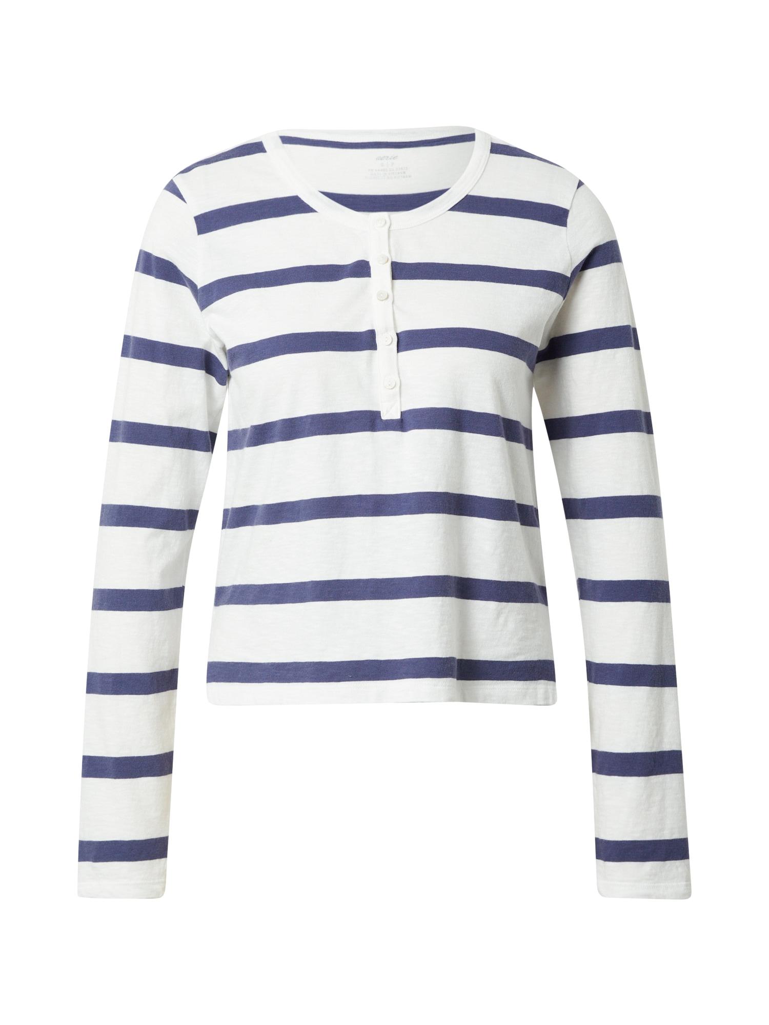 AERIE Marškinėliai mėlyna / balta