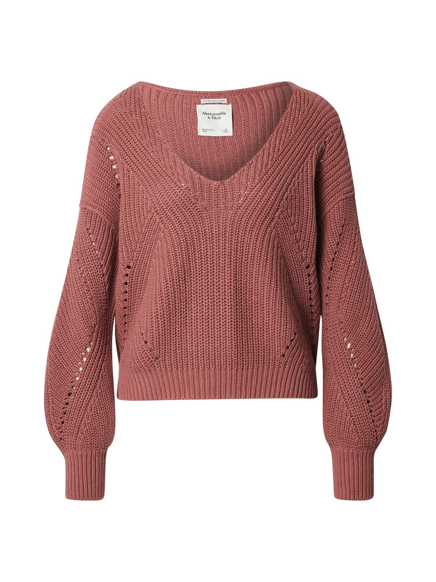 Abercrombie & Fitch Megztinis pastelinė raudona