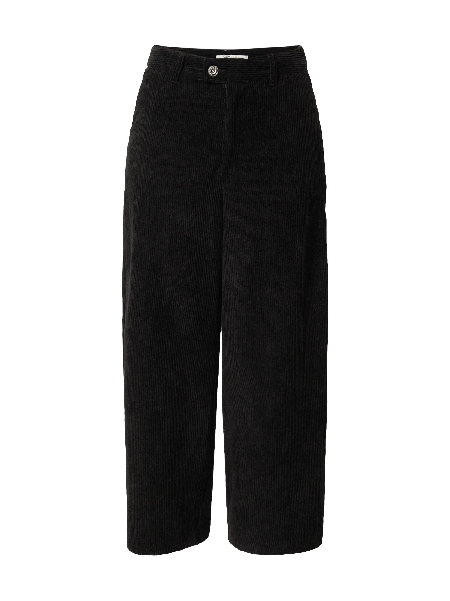 ONLY Kalhoty 'Elvira'  černá