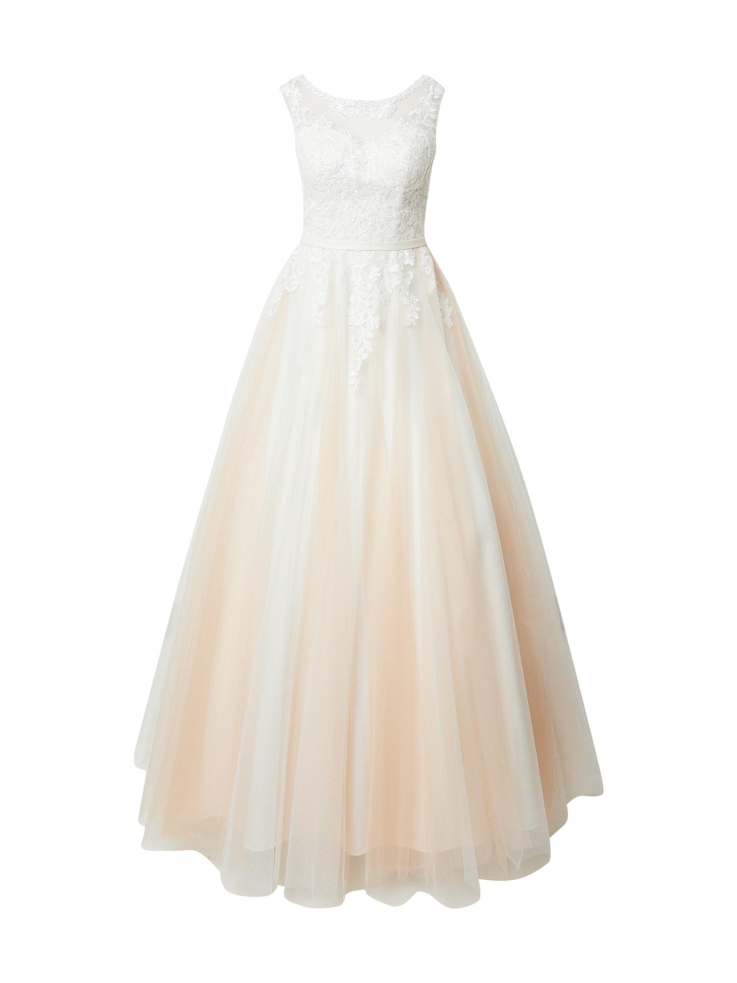 MAGIC BRIDE Vakarinė suknelė balkšva / kūno spalva