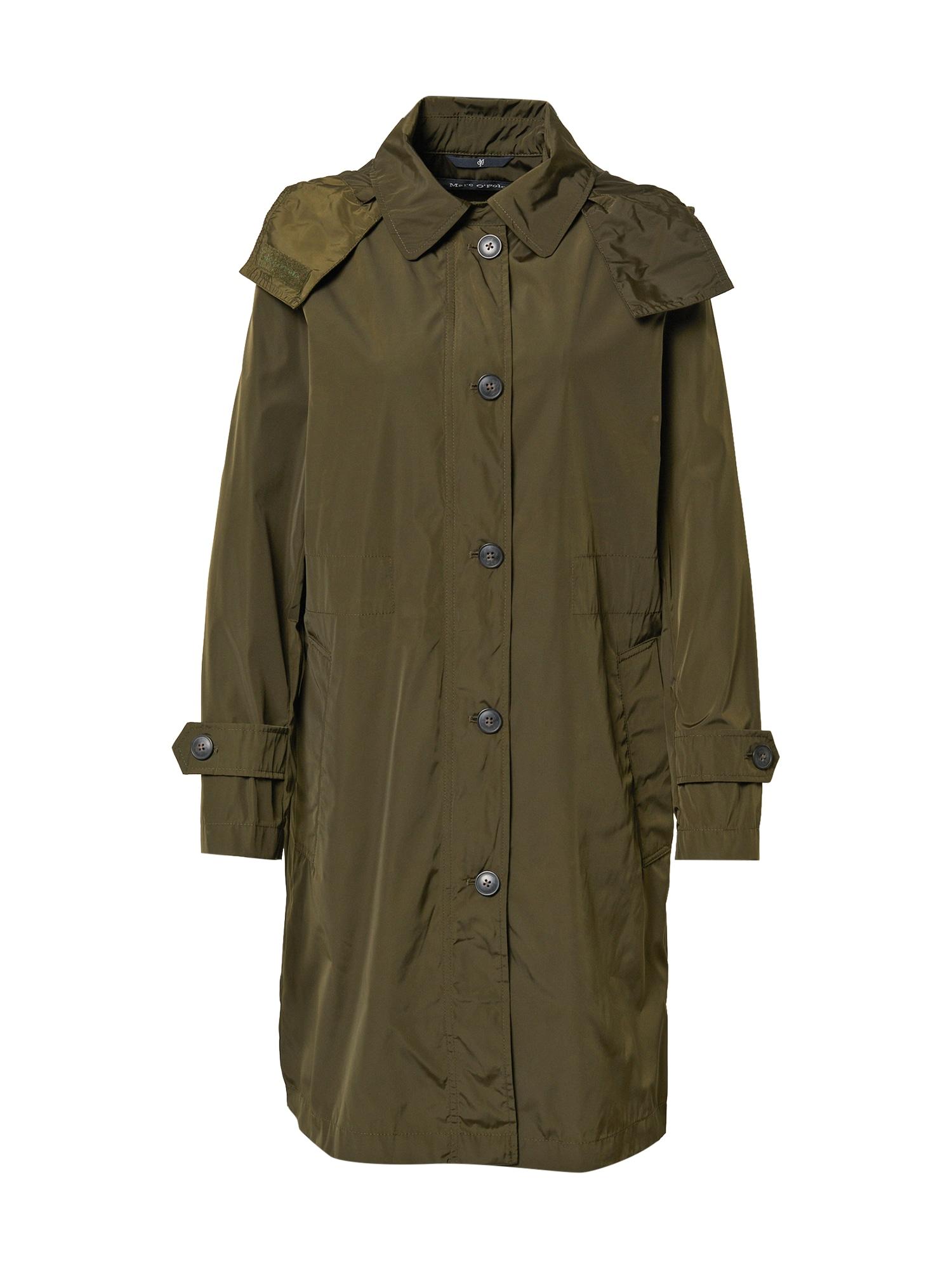Marc O'Polo Demisezoninis paltas alyvuogių spalva