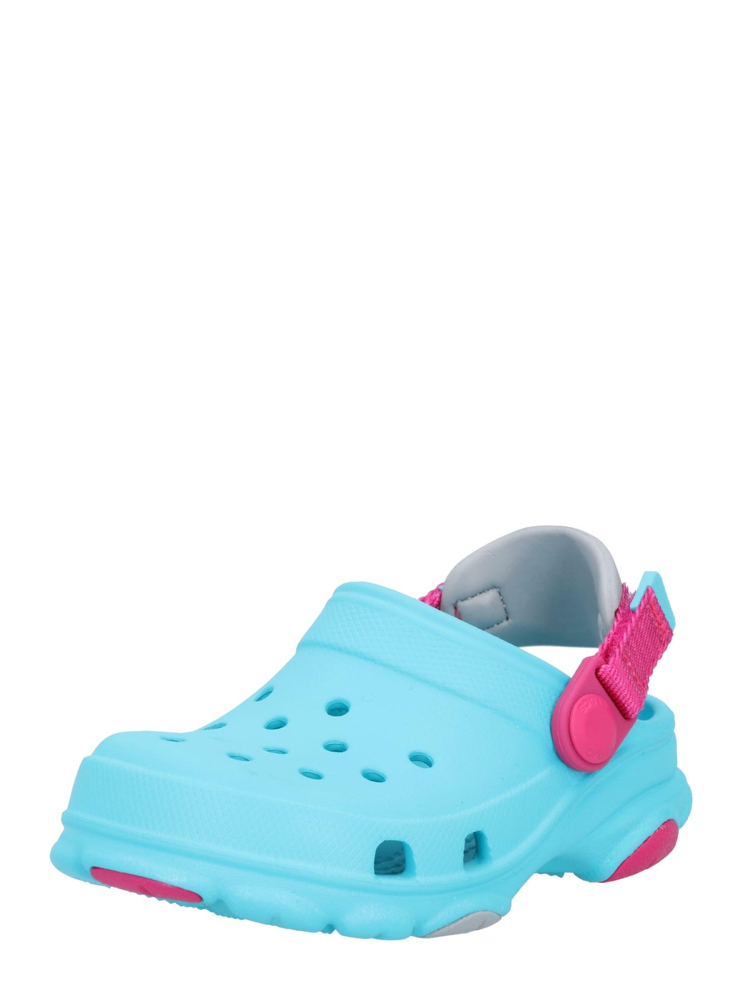 Crocs Atviri batai vandens spalva / uogų spalva