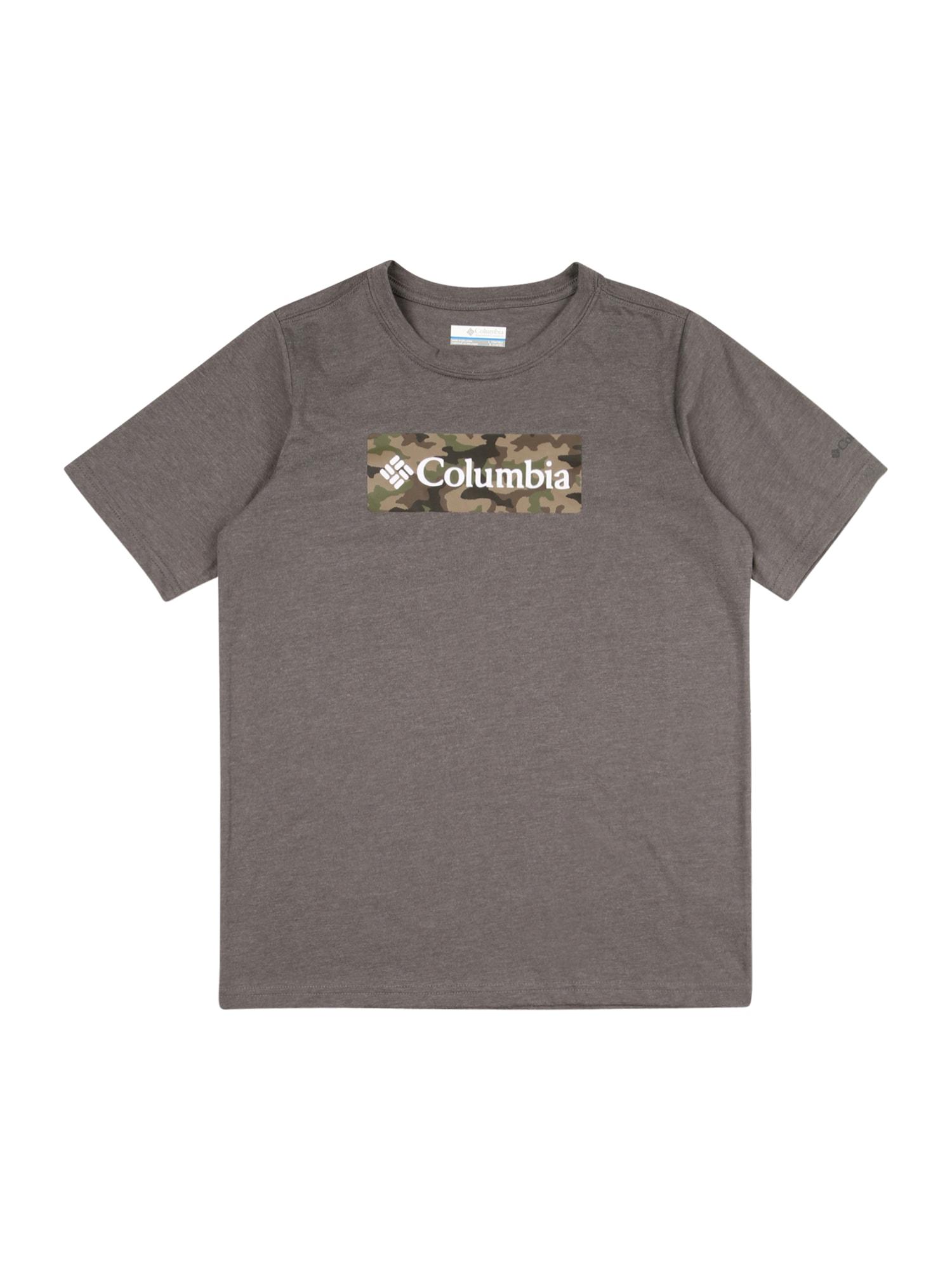 COLUMBIA Funkčné tričko 'Roast and Relax'  zmiešané farby / tmavošedá