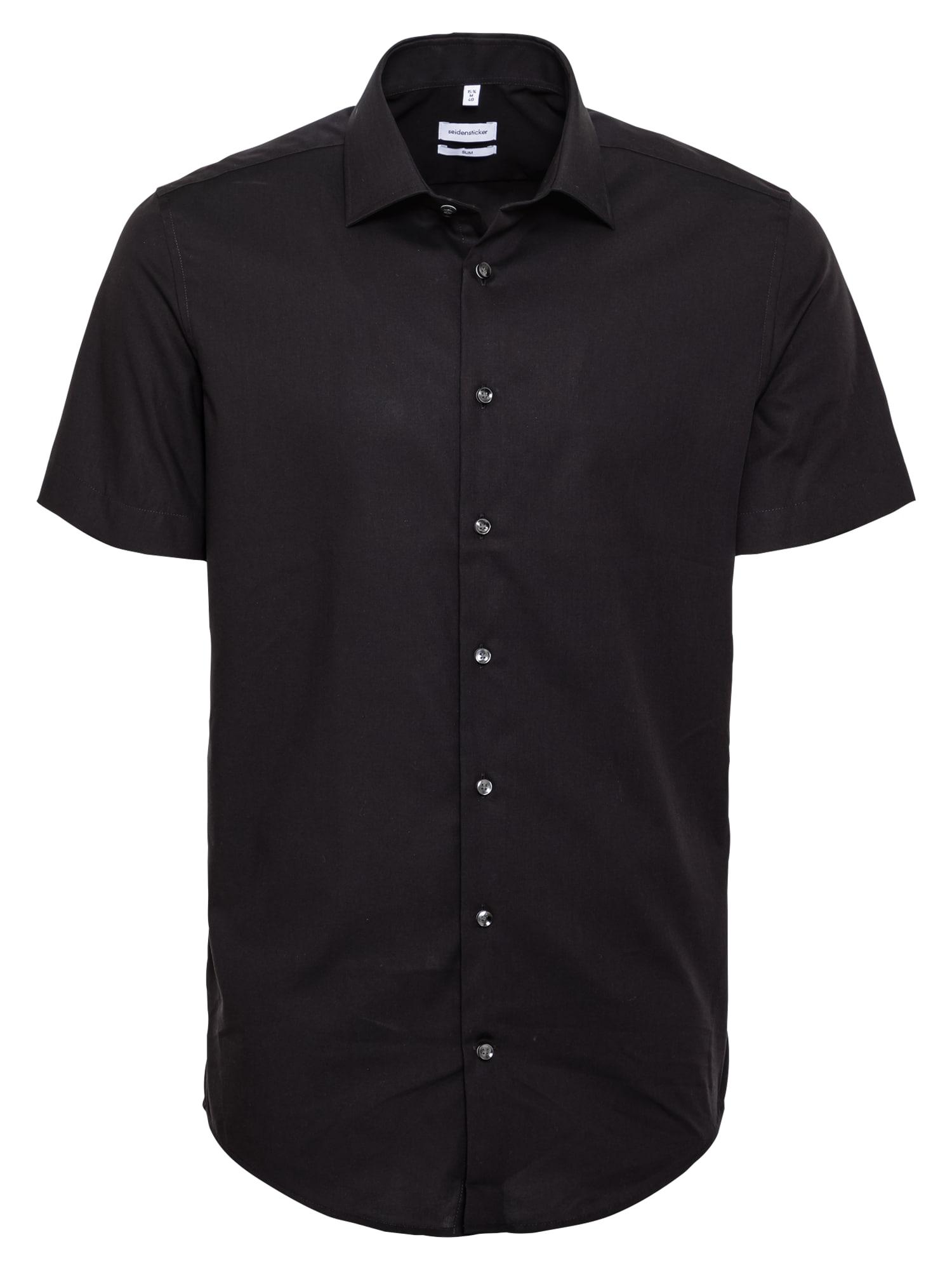 SEIDENSTICKER Marškiniai juoda