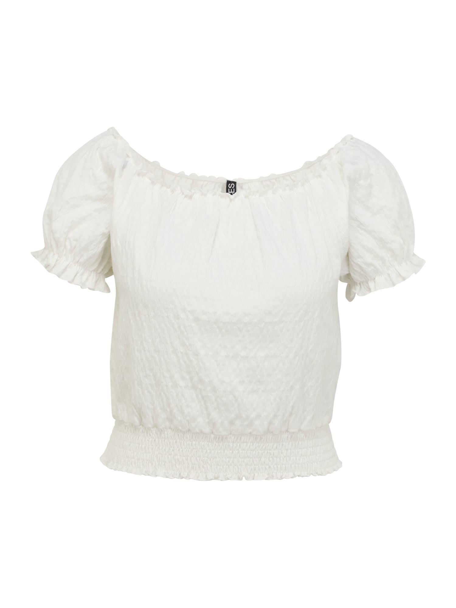 Pieces Petite Marškinėliai balta