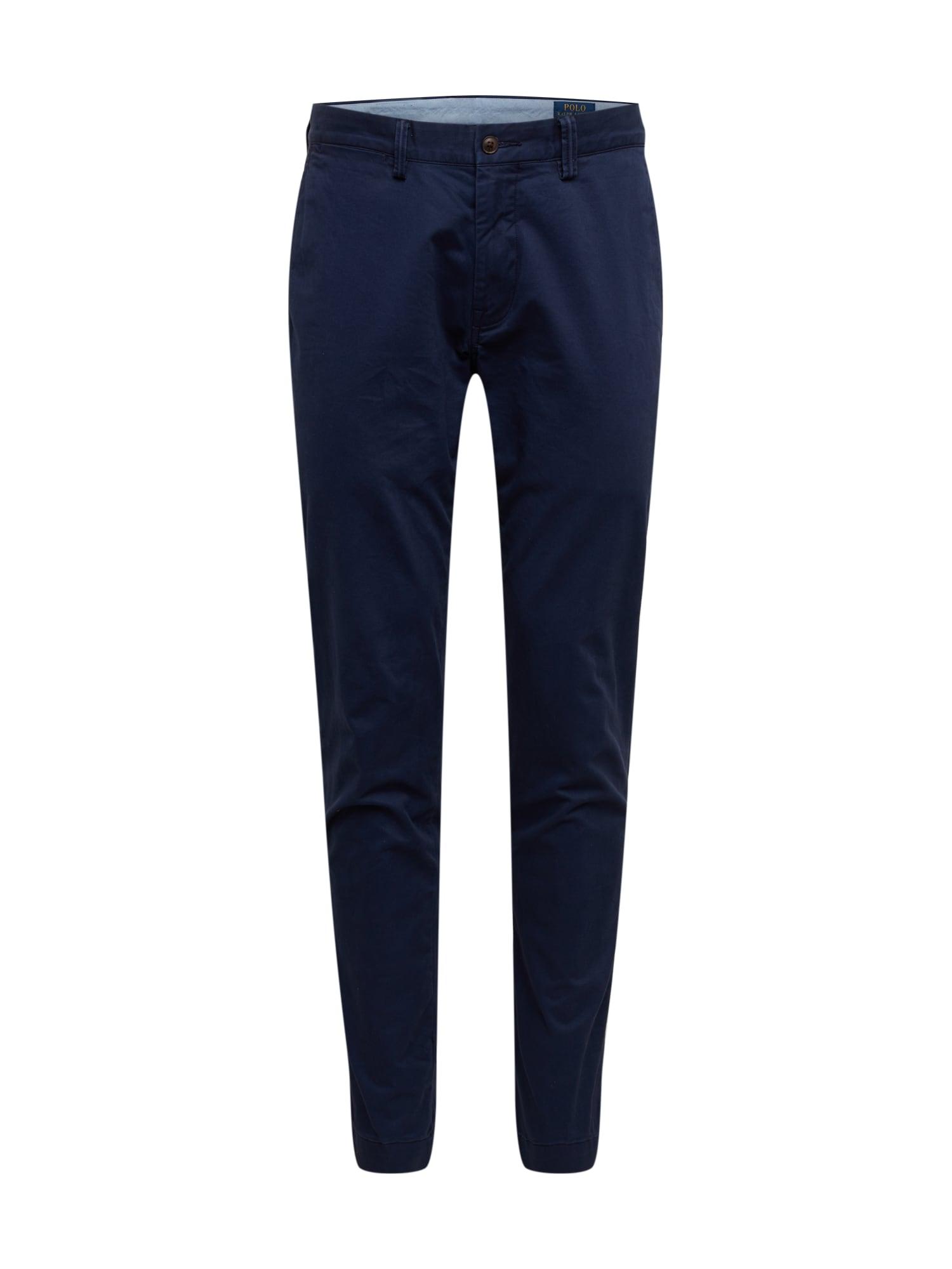 POLO RALPH LAUREN Chino kalhoty 'Bedford'  námořnická modř
