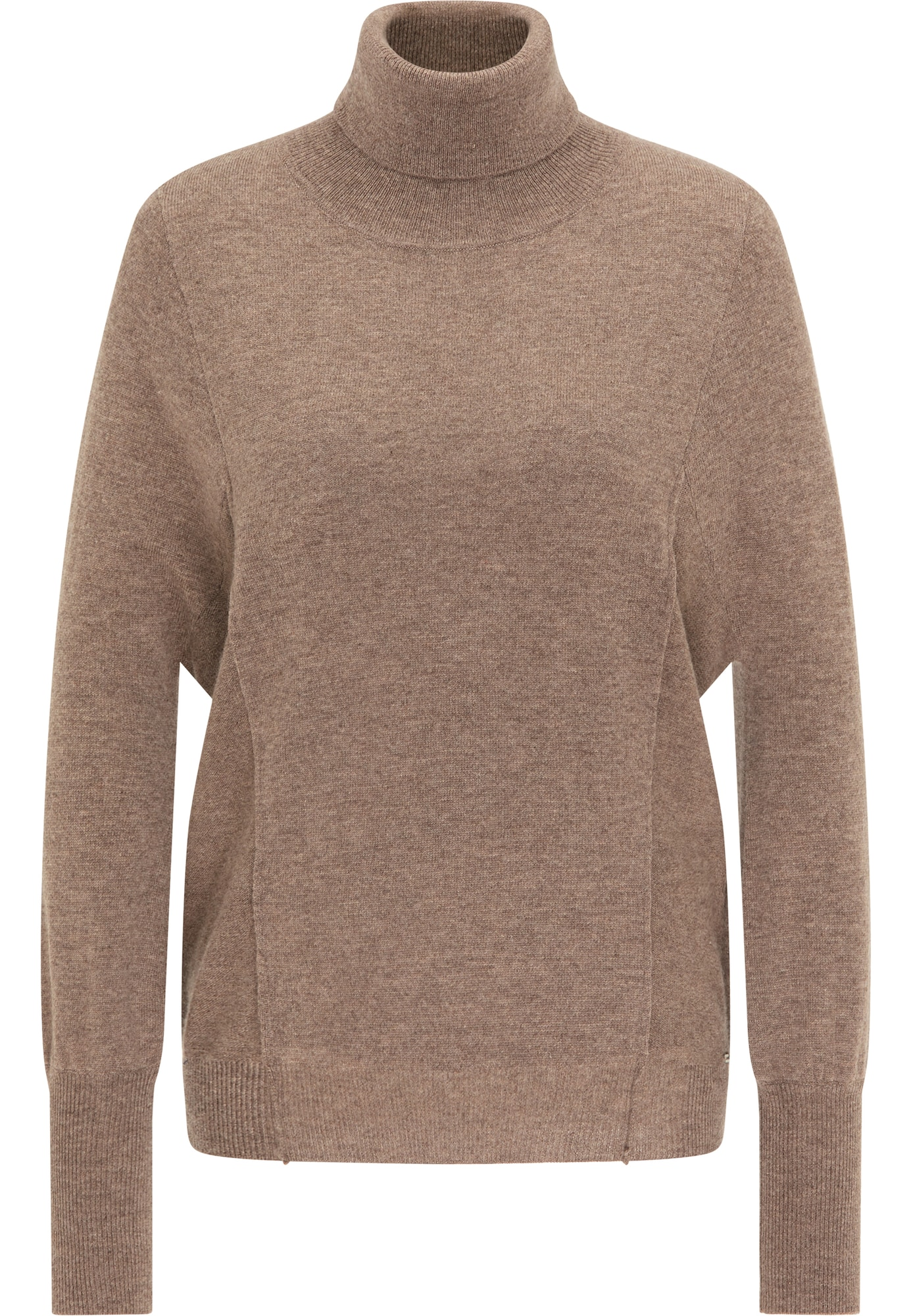 DreiMaster Klassik Laisvas megztinis ruda