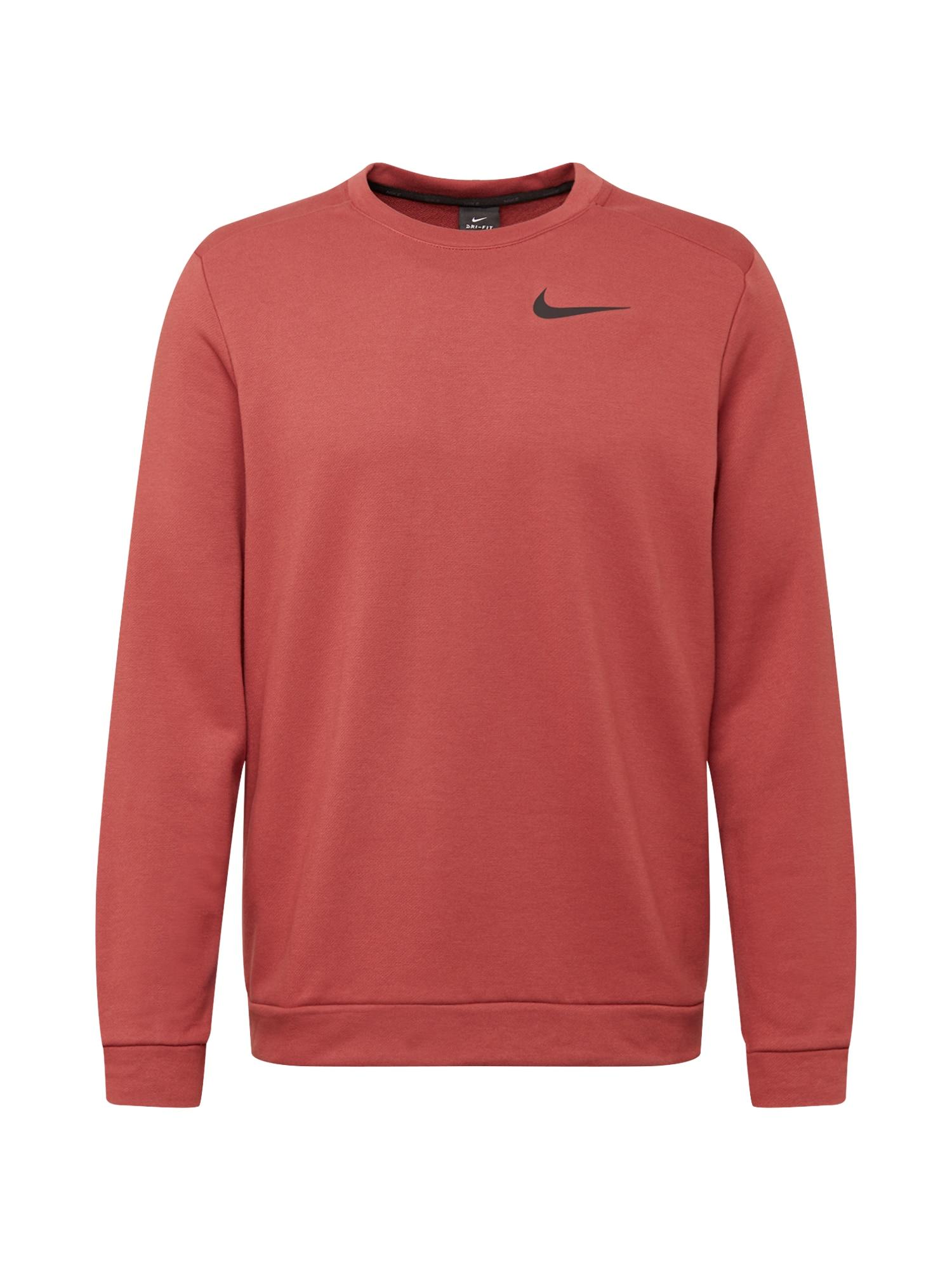 NIKE Sportinio tipo megztinis raudona