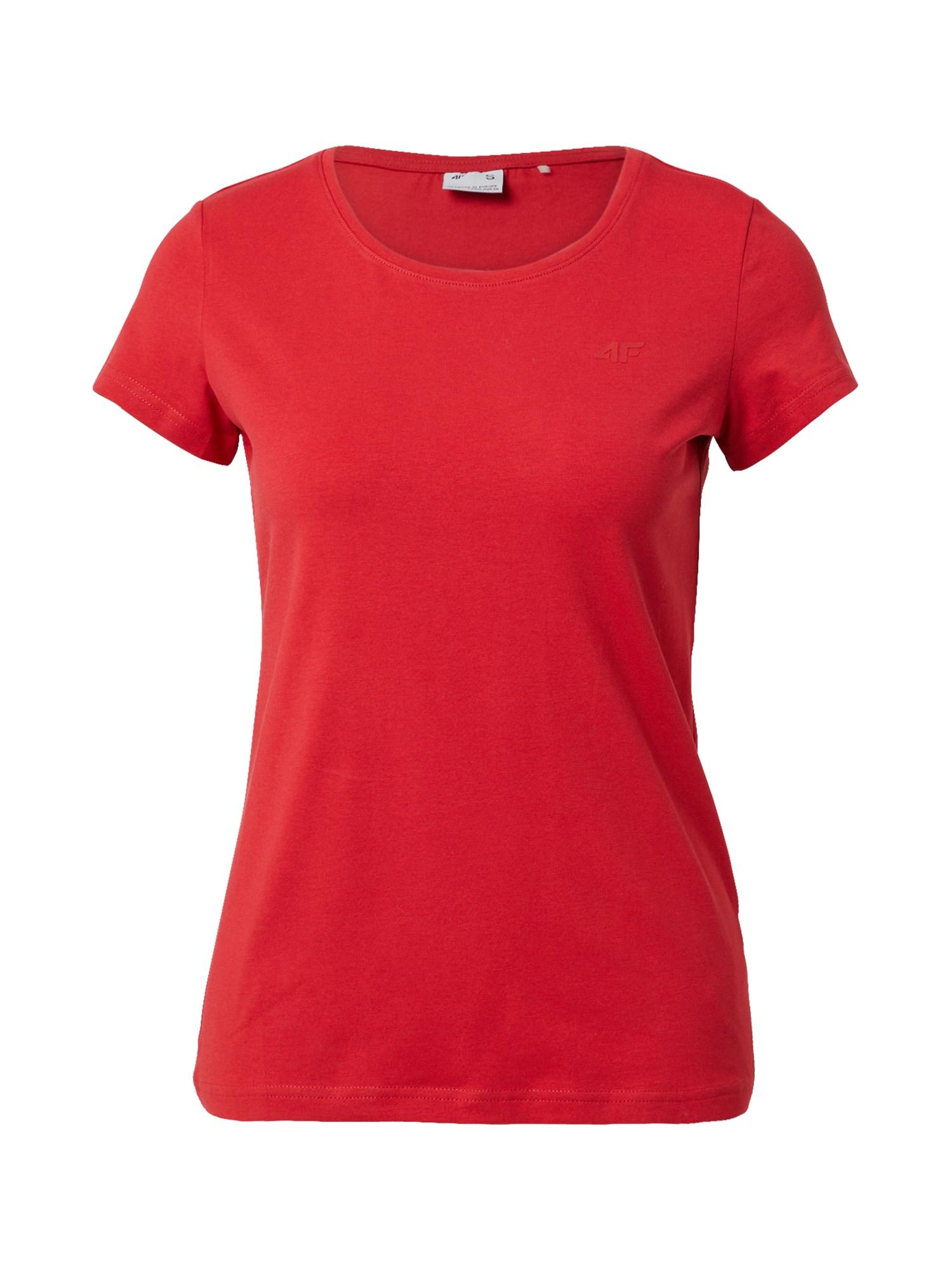 4F Sportiniai marškinėliai raudona