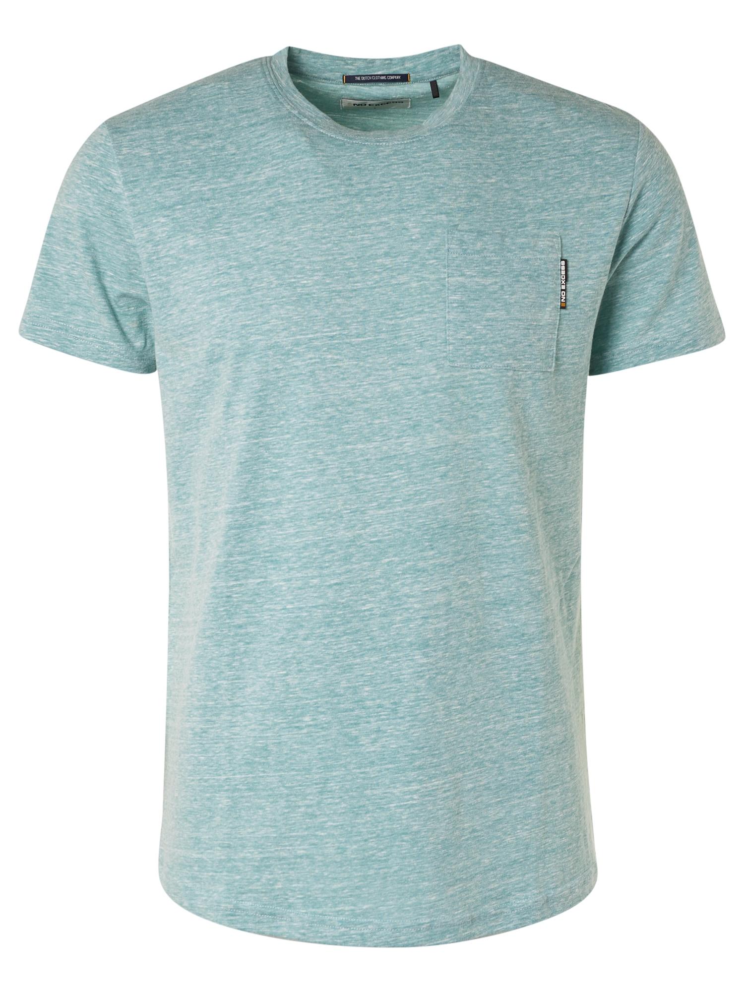 No Excess Marškinėliai turkio spalva