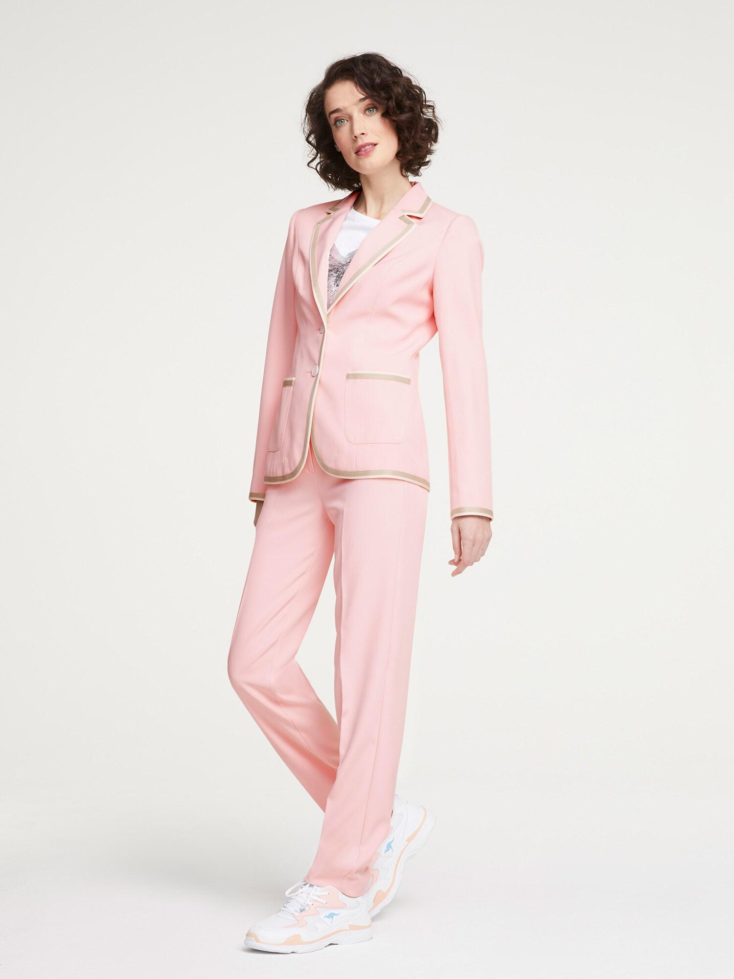 heine Moteriškas kostiumėlis su kelnėmis rožių spalva