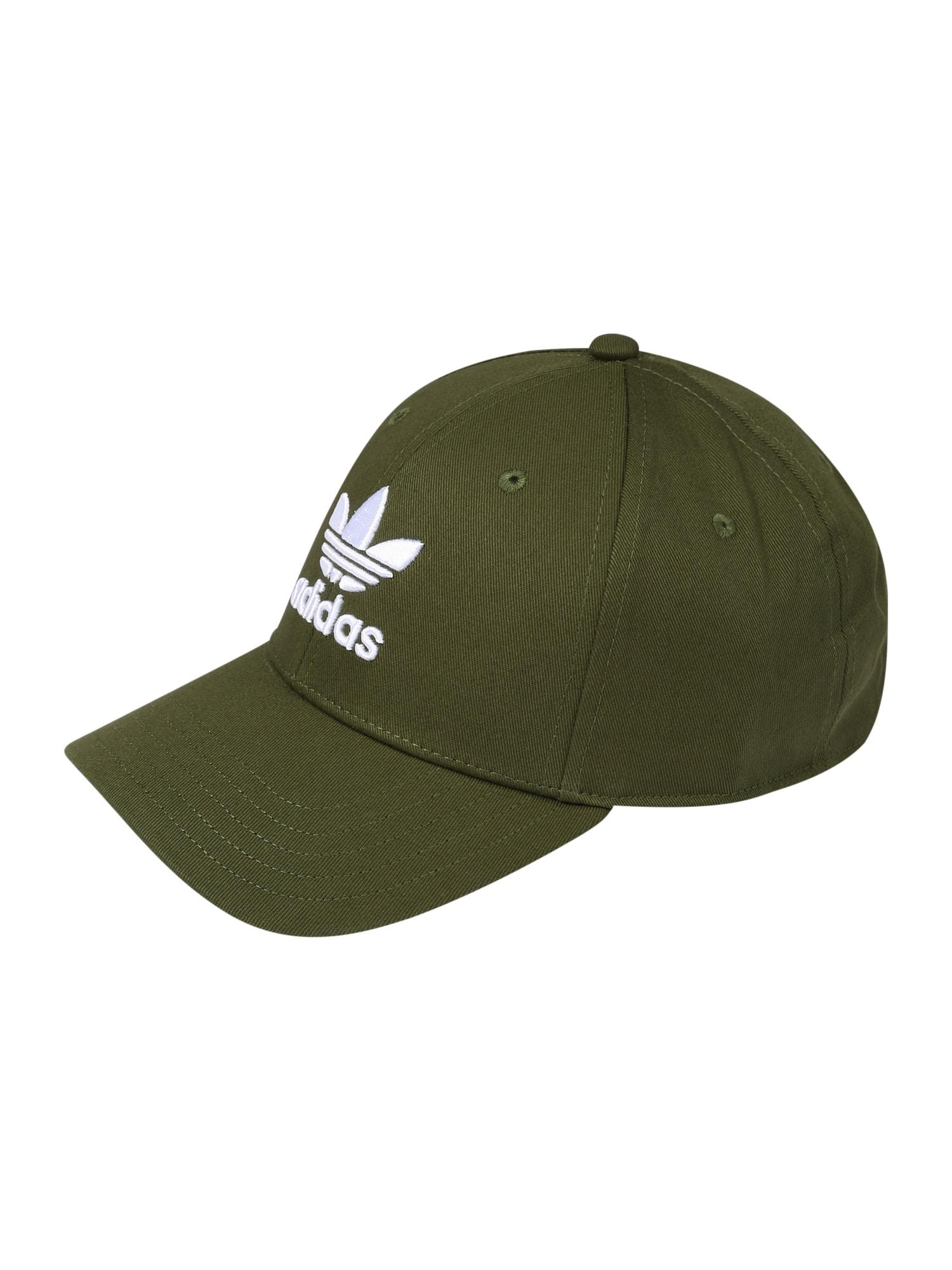 ADIDAS ORIGINALS Kepurė žalia / balta
