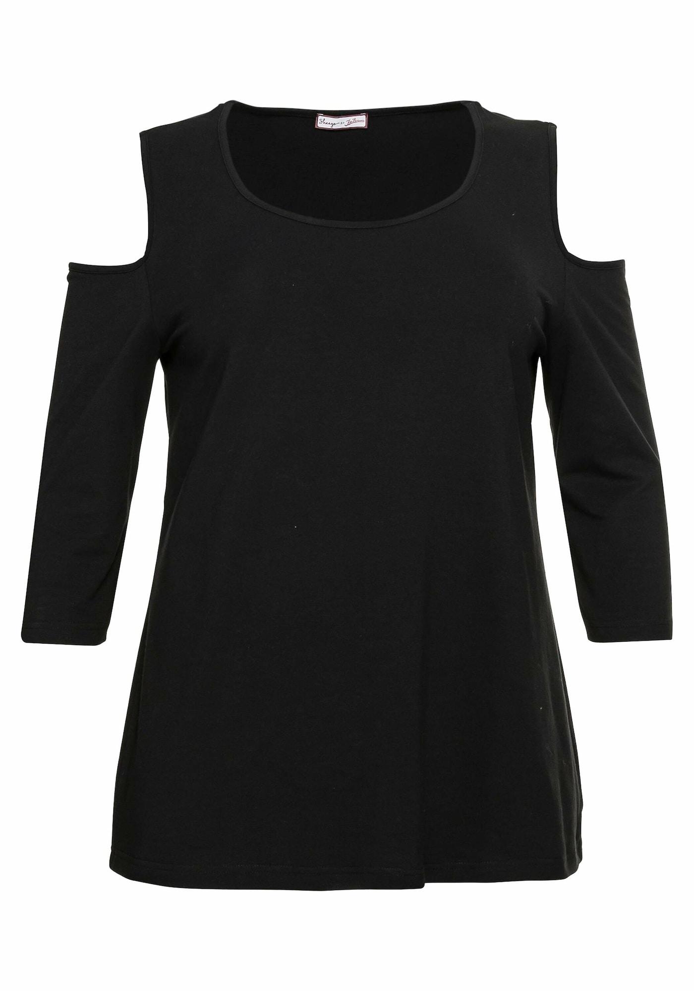 sheego by Joe Browns Marškinėliai juoda