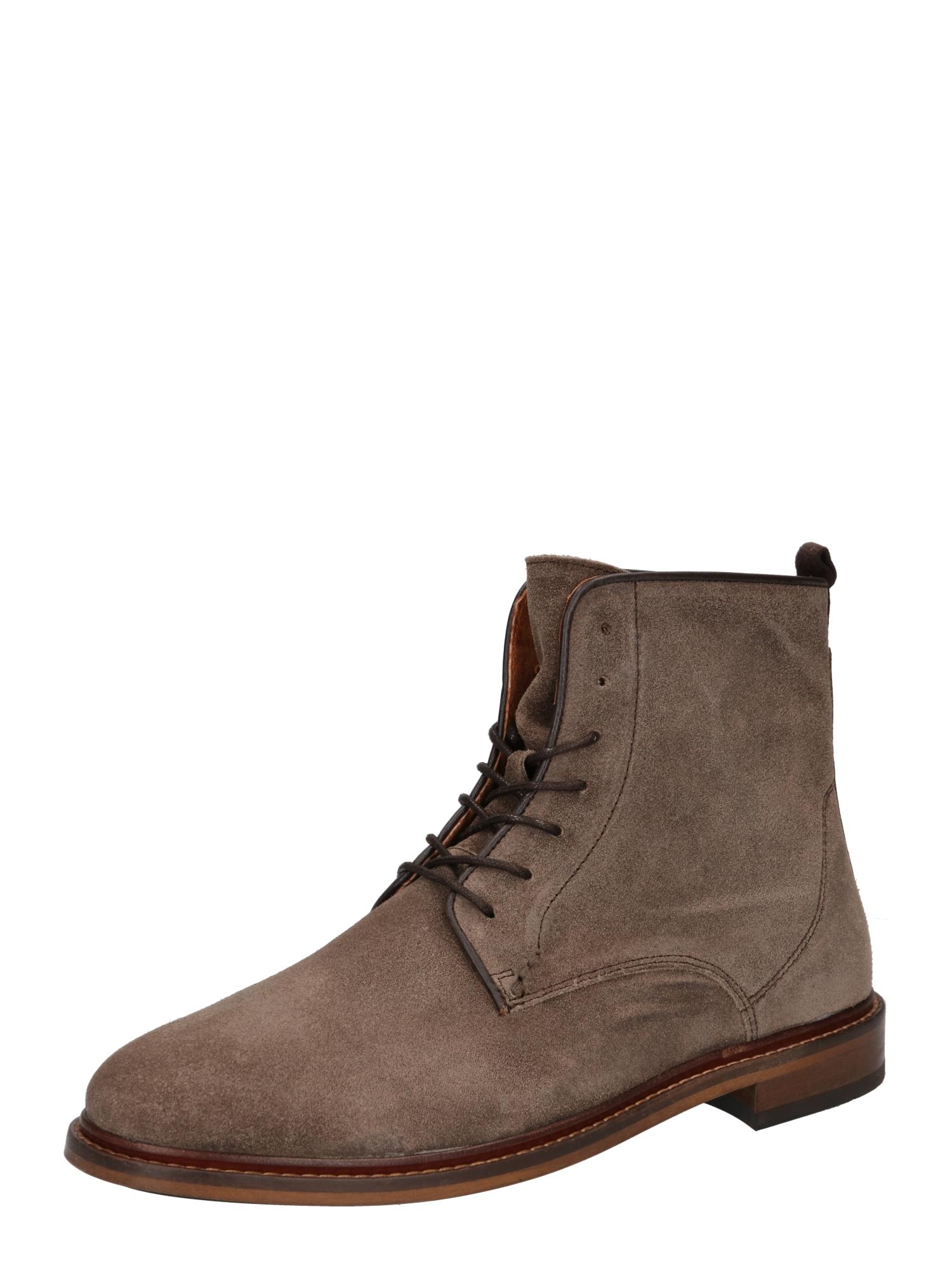Shoe The Bear Suvarstomieji batai rausvai pilka