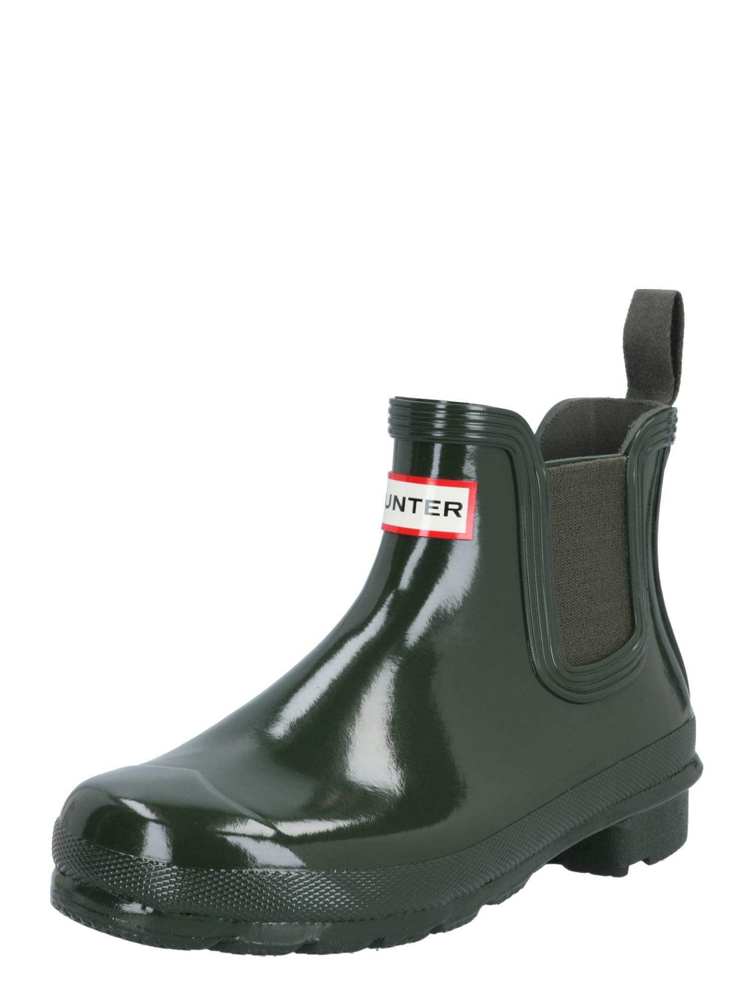 HUNTER Guminiai batai įdegio spalva