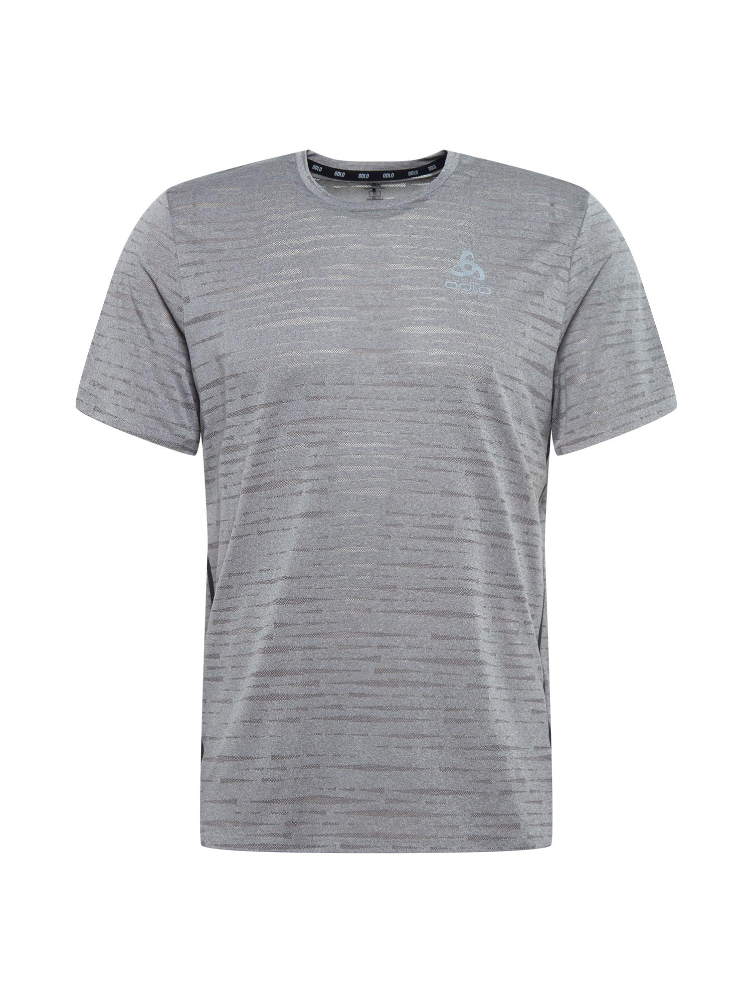 ODLO Sportiniai marškinėliai pilka / rusvai pilka