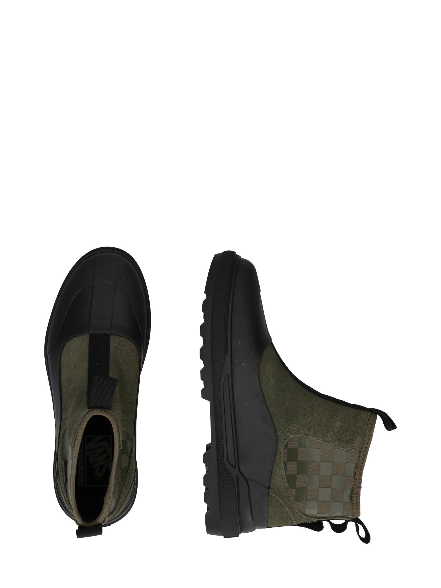 VANS Chelsea Boots 'UA Colfax'  noir / kaki