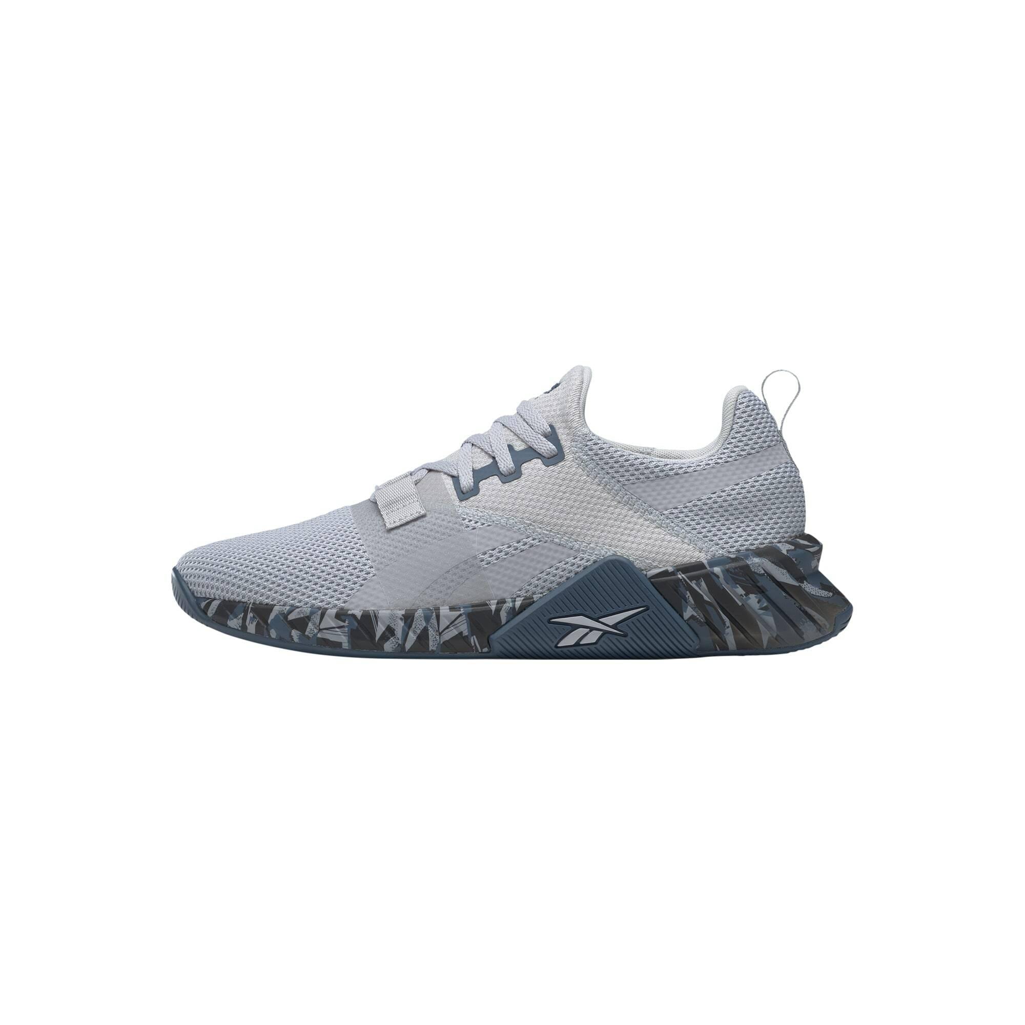 REEBOK Sportiniai batai šviesiai mėlyna / balta / pilka