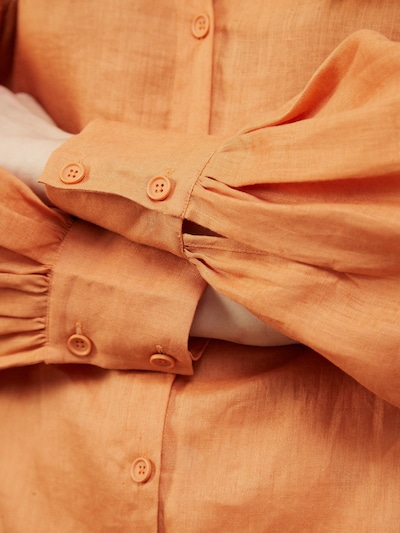 CHARITY Oversized Side Split Drop Hem Shirt