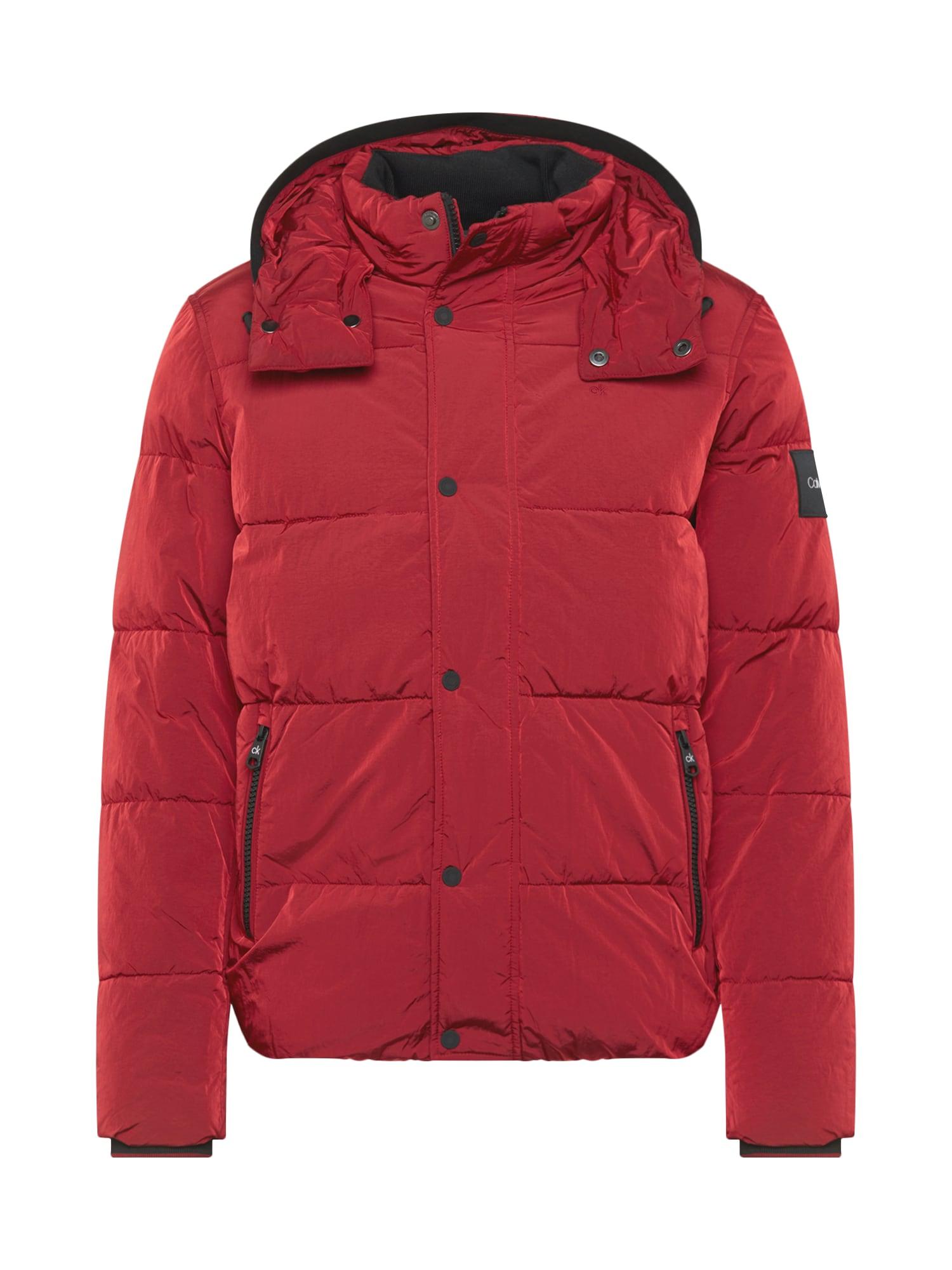 Calvin Klein Demisezoninė striukė raudona
