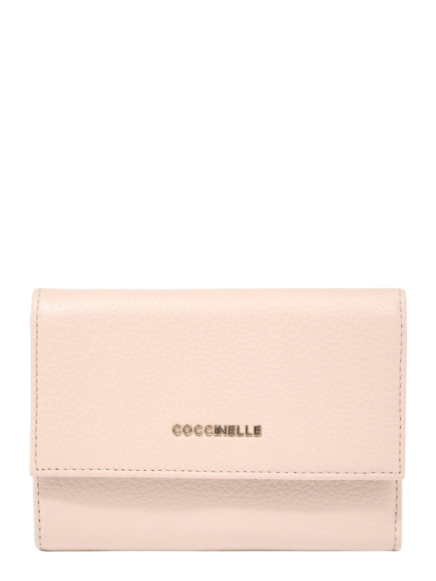 Coccinelle Piniginė pudros spalva / ryškiai rožinė spalva