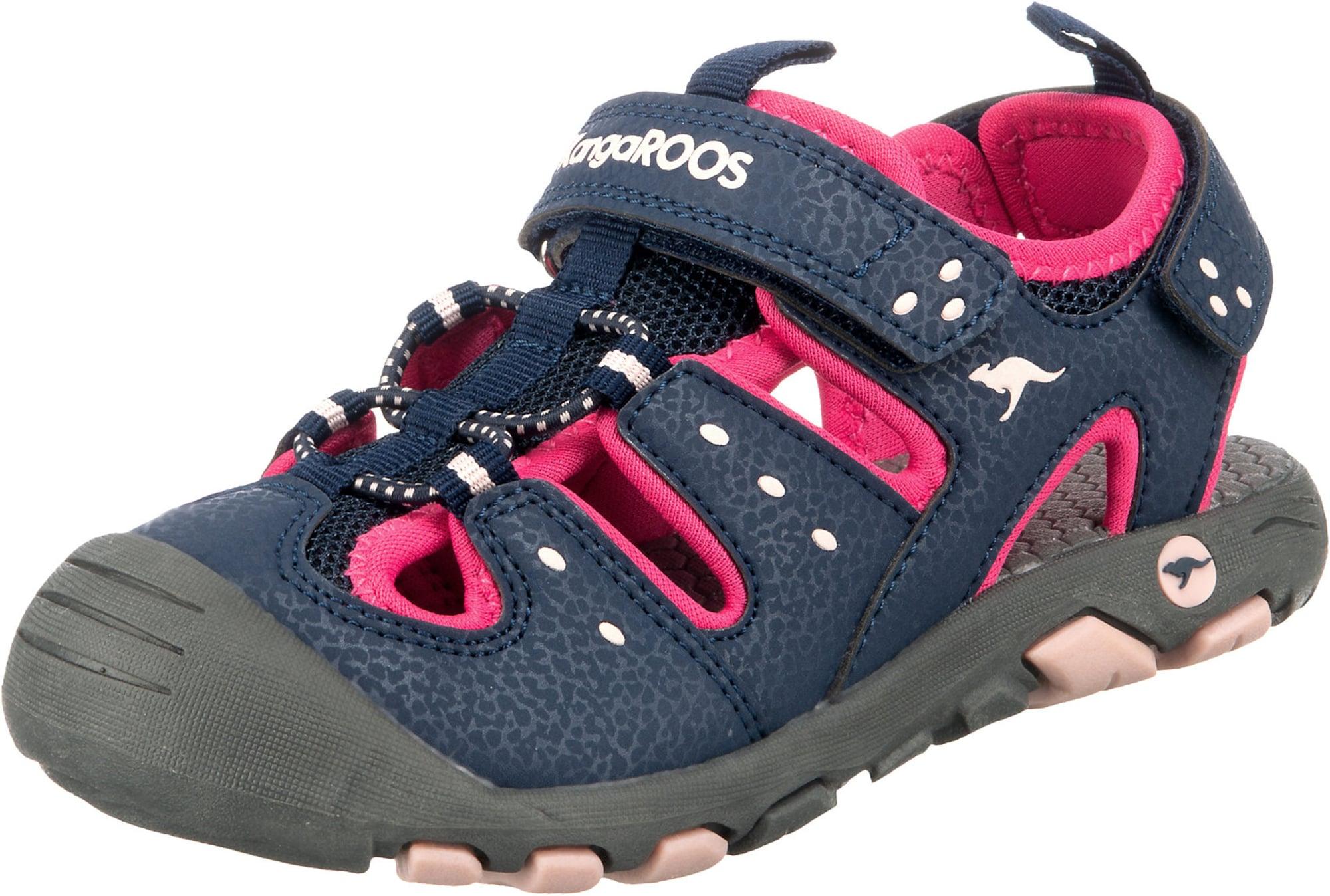 KangaROOS Atviri batai rožinė / tamsiai mėlyna