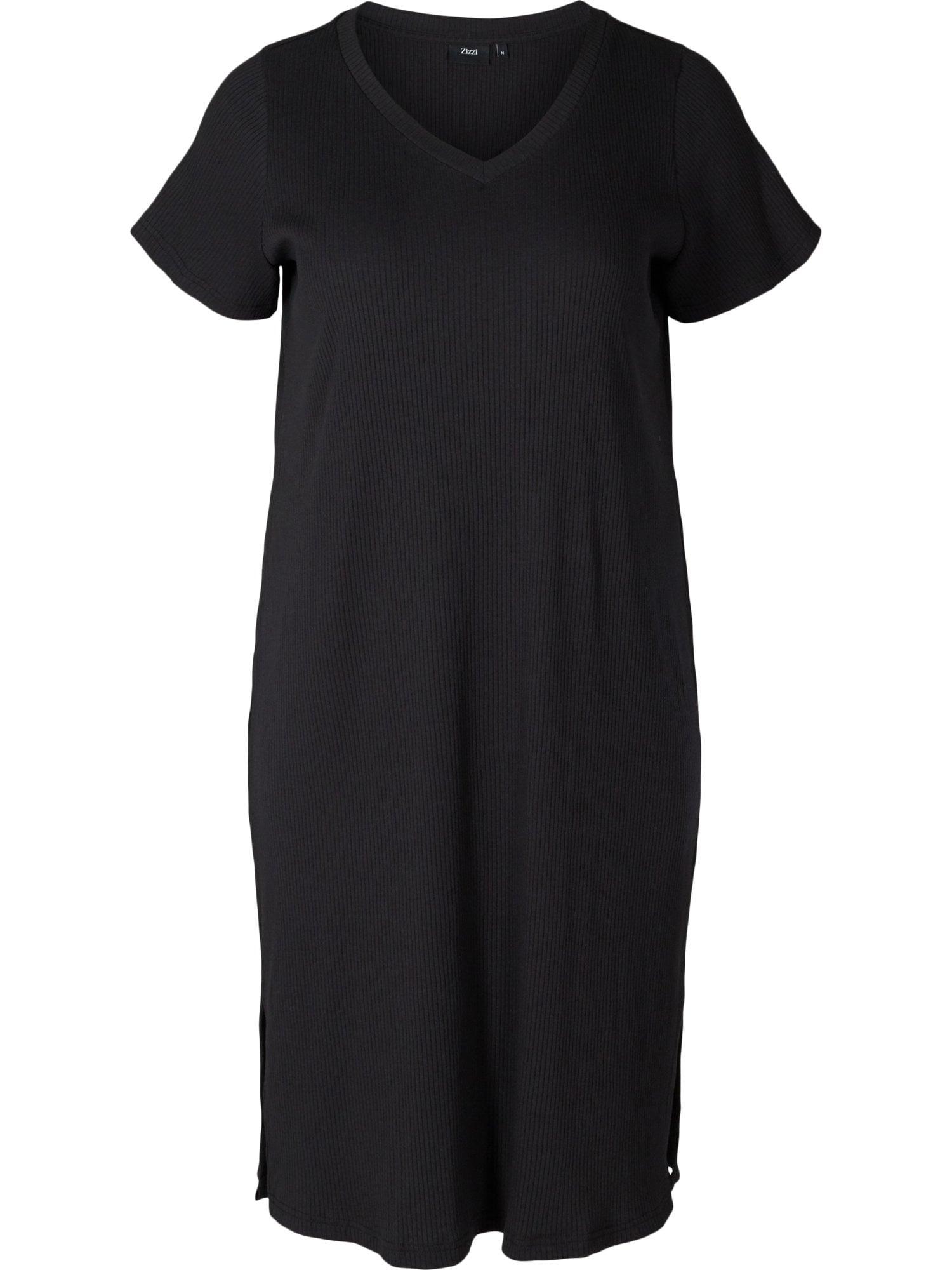 Zizzi Letní šaty 'Vnava'  černá