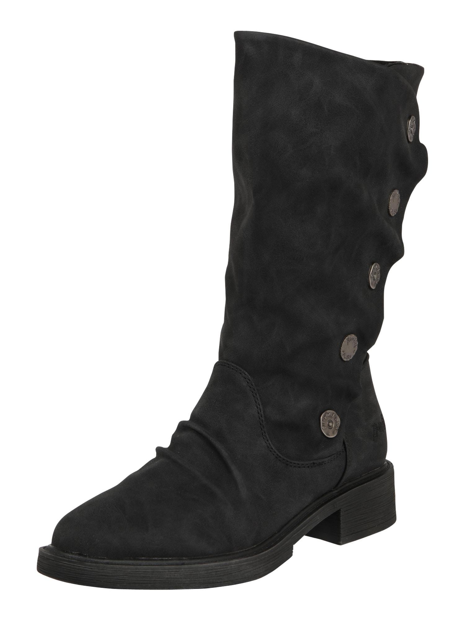 Blowfish Malibu Auliniai batai su kulniuku 'Keeda 2' margai juoda
