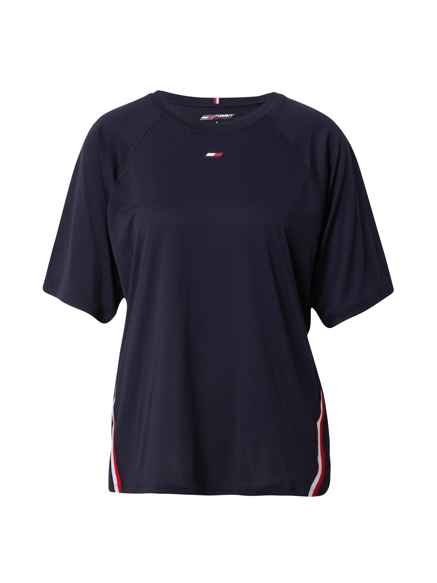 Tommy Sport Sportiniai marškinėliai tamsiai mėlyna